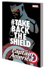 Marvel Comics Captain America Sam Wilson Vol 04 #Takebacktheshield