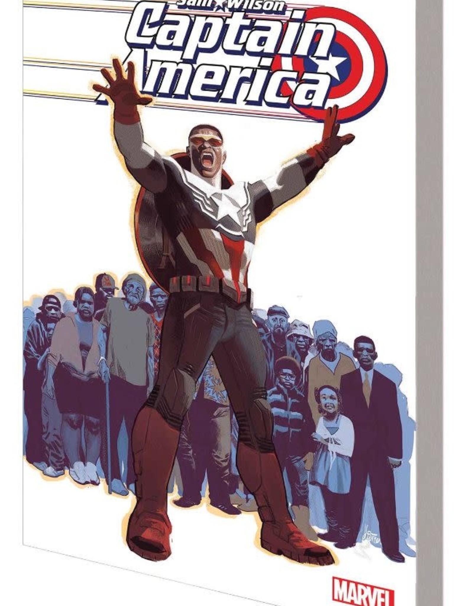 Marvel Comics Captain America Sam Wilson Vol 05 End of the Line