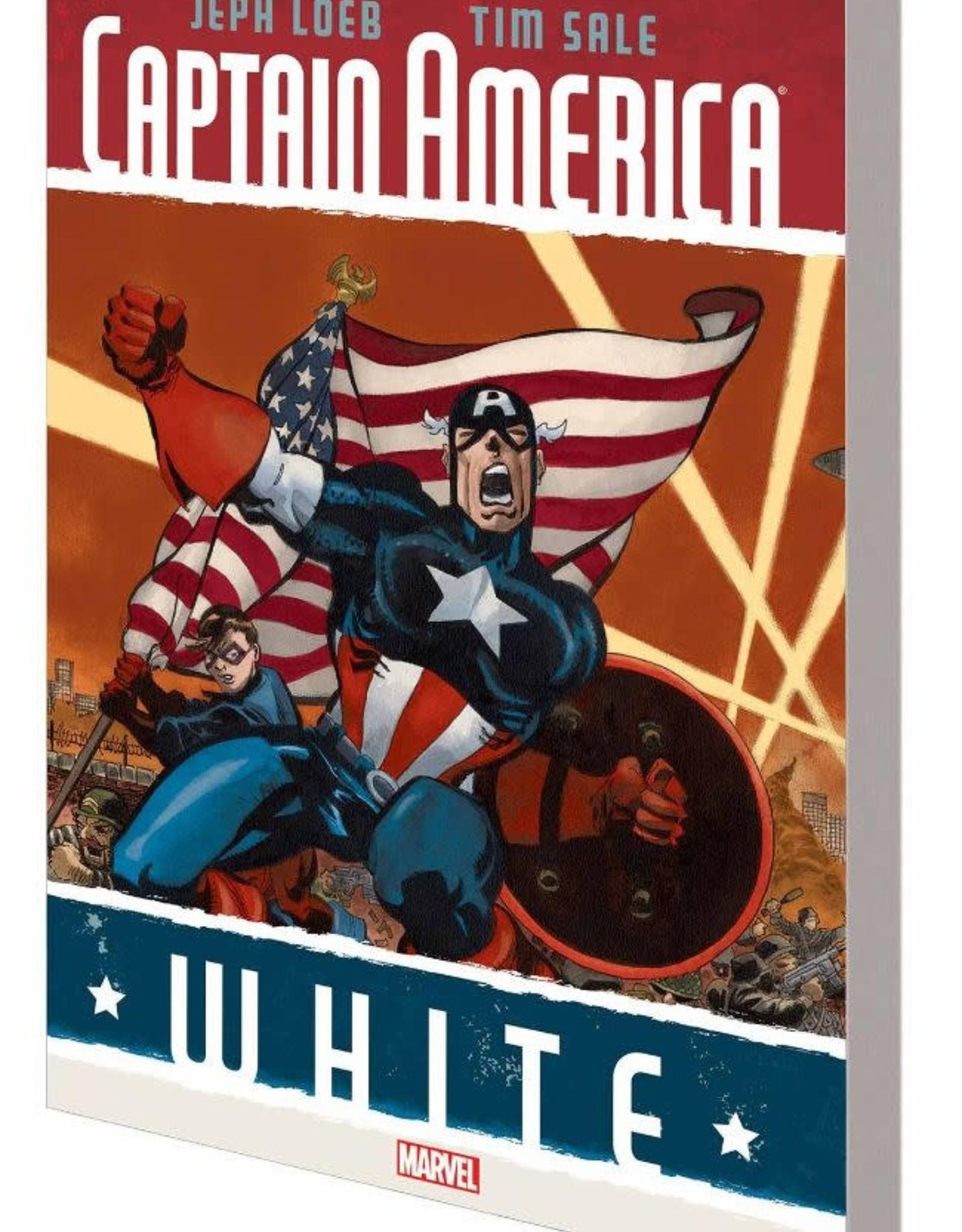 Marvel Comics Captain America White