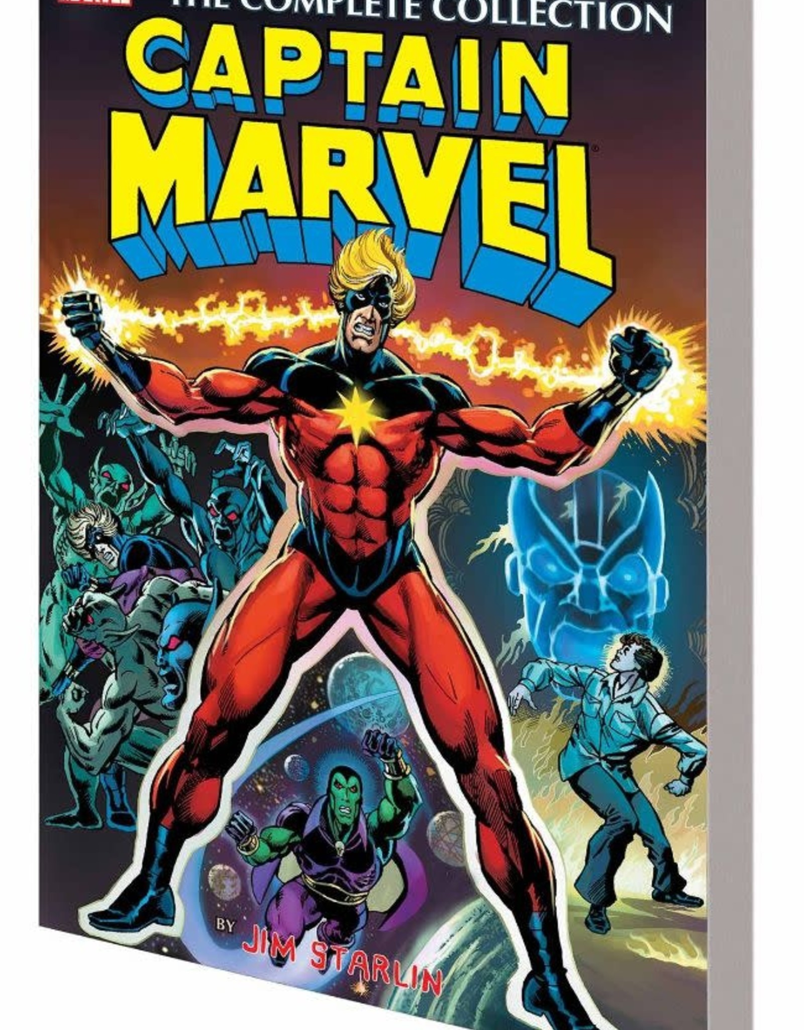 Marvel Comics Captain Marvel by Jim Starlin Complete Collection