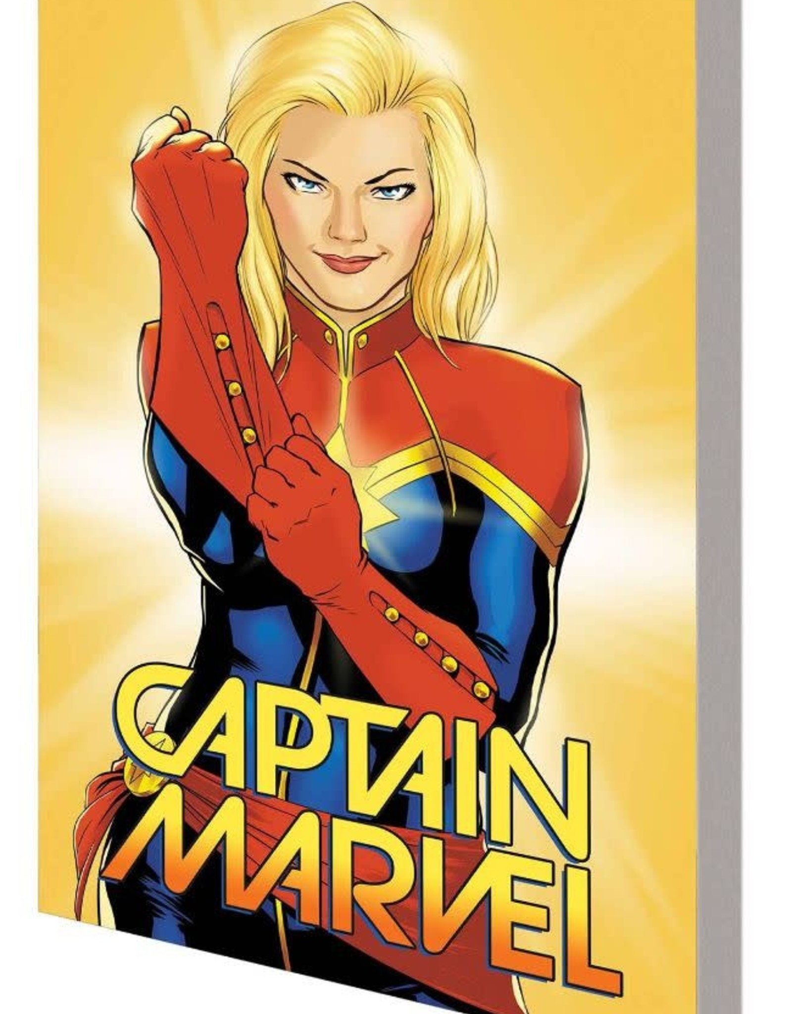 Marvel Comics Captain Marvel Vol 01 Higher Further Faster More