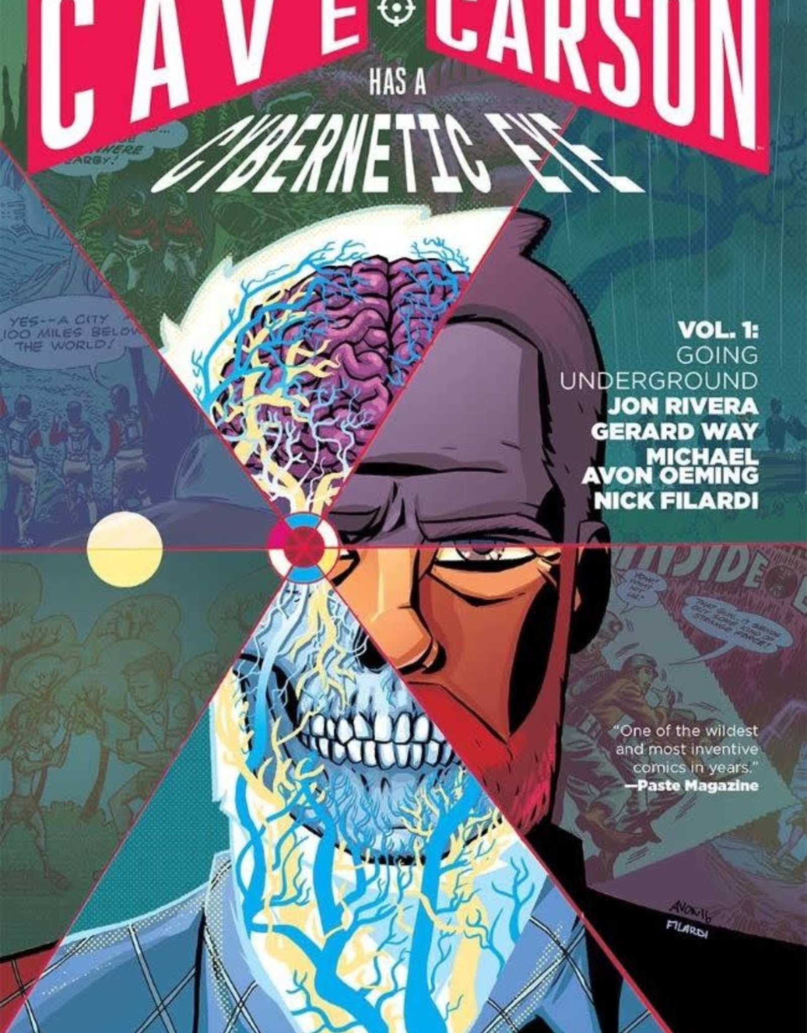 DC Comics Cave Carson Has a Cybernetic Eye Vol 01 Going Underground