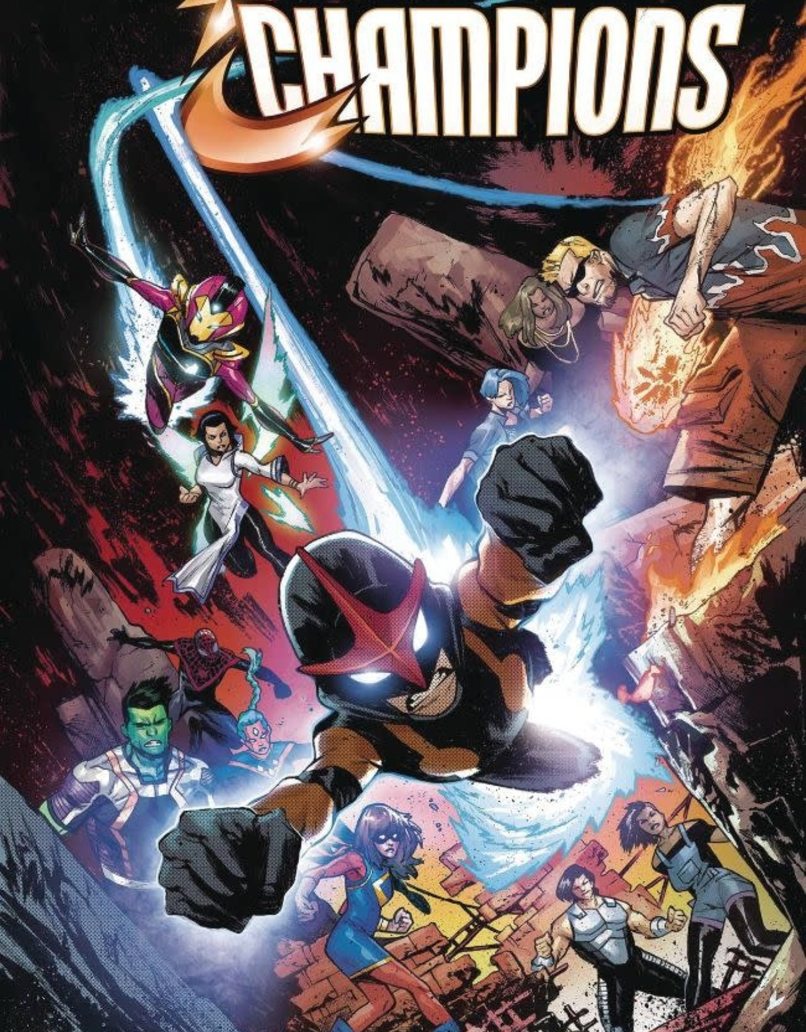 Marvel Comics Champions Vol 02: Give and Take TP