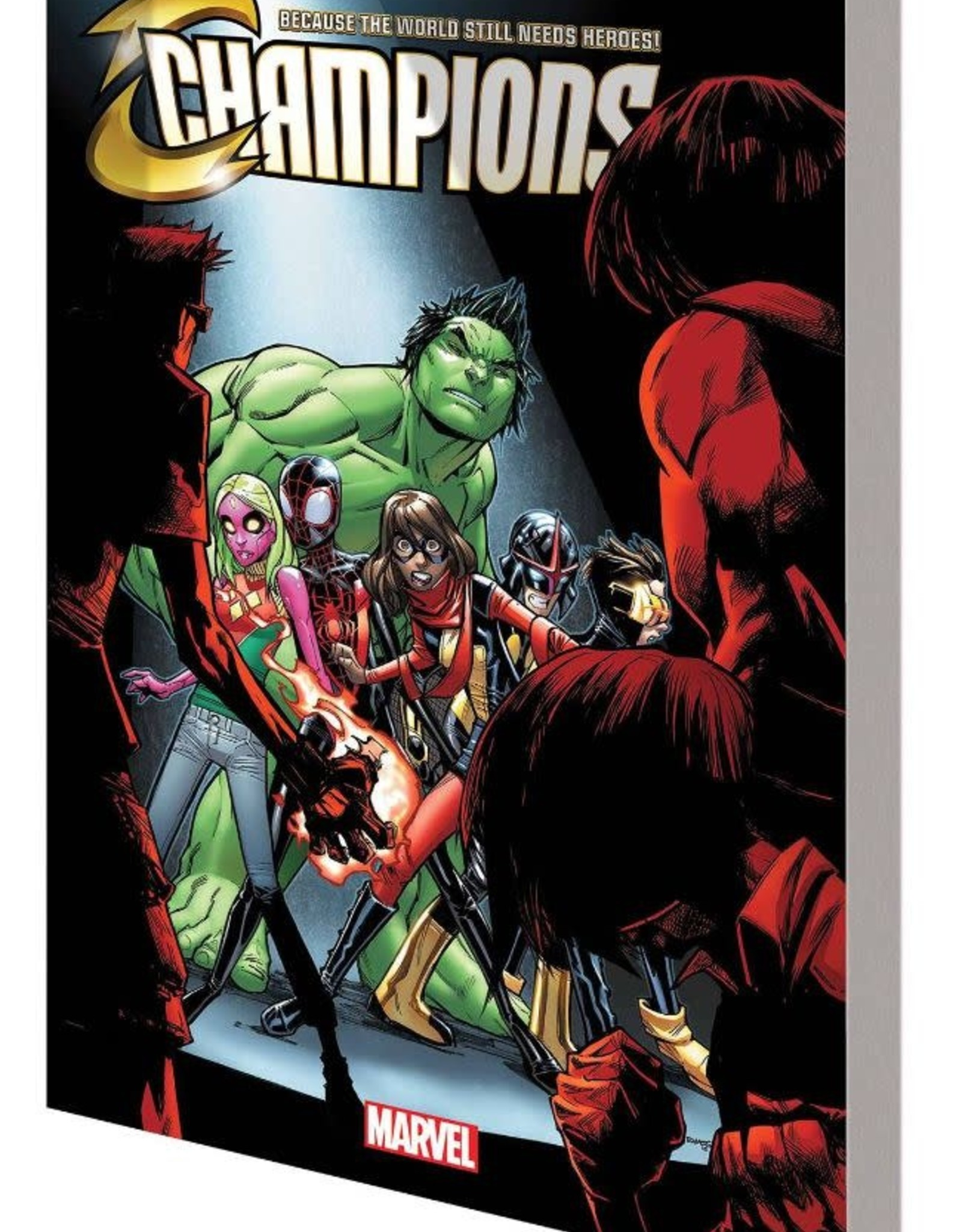 Marvel Comics Champions Vol 02 The Freelancer Lifestyle