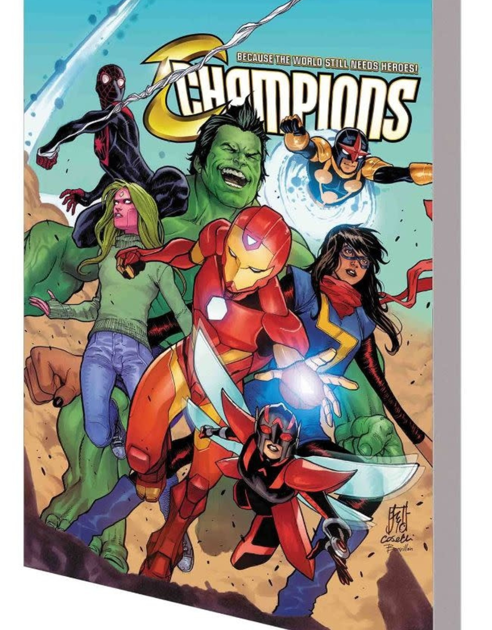 Marvel Comics Champions Vol 04 Northern Lights