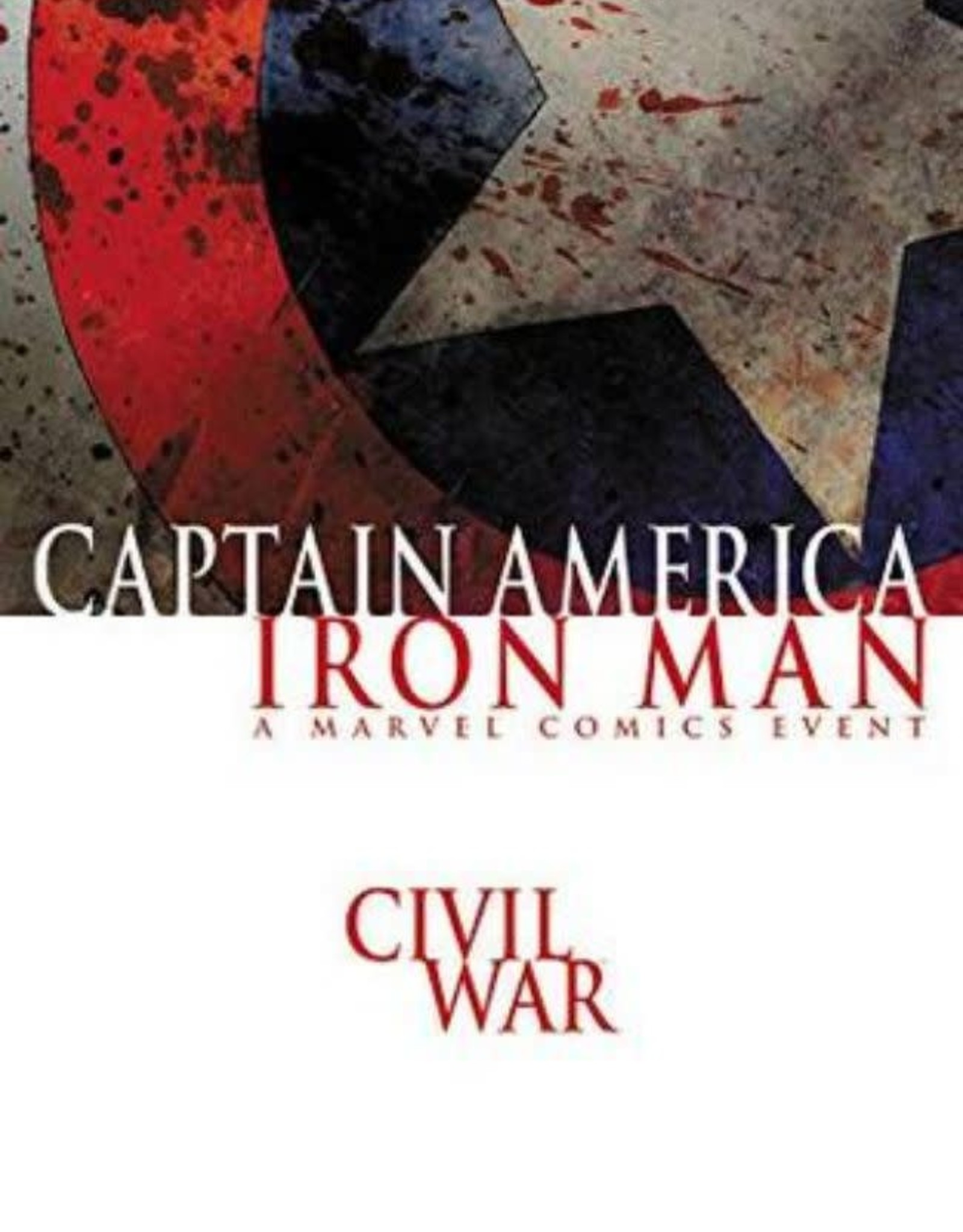 Marvel Comics Civil War Captain America/Iron Man