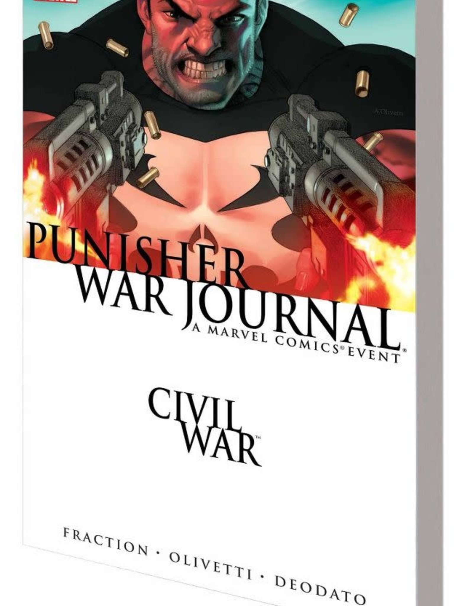 Marvel Comics Civil War Punisher War Journal