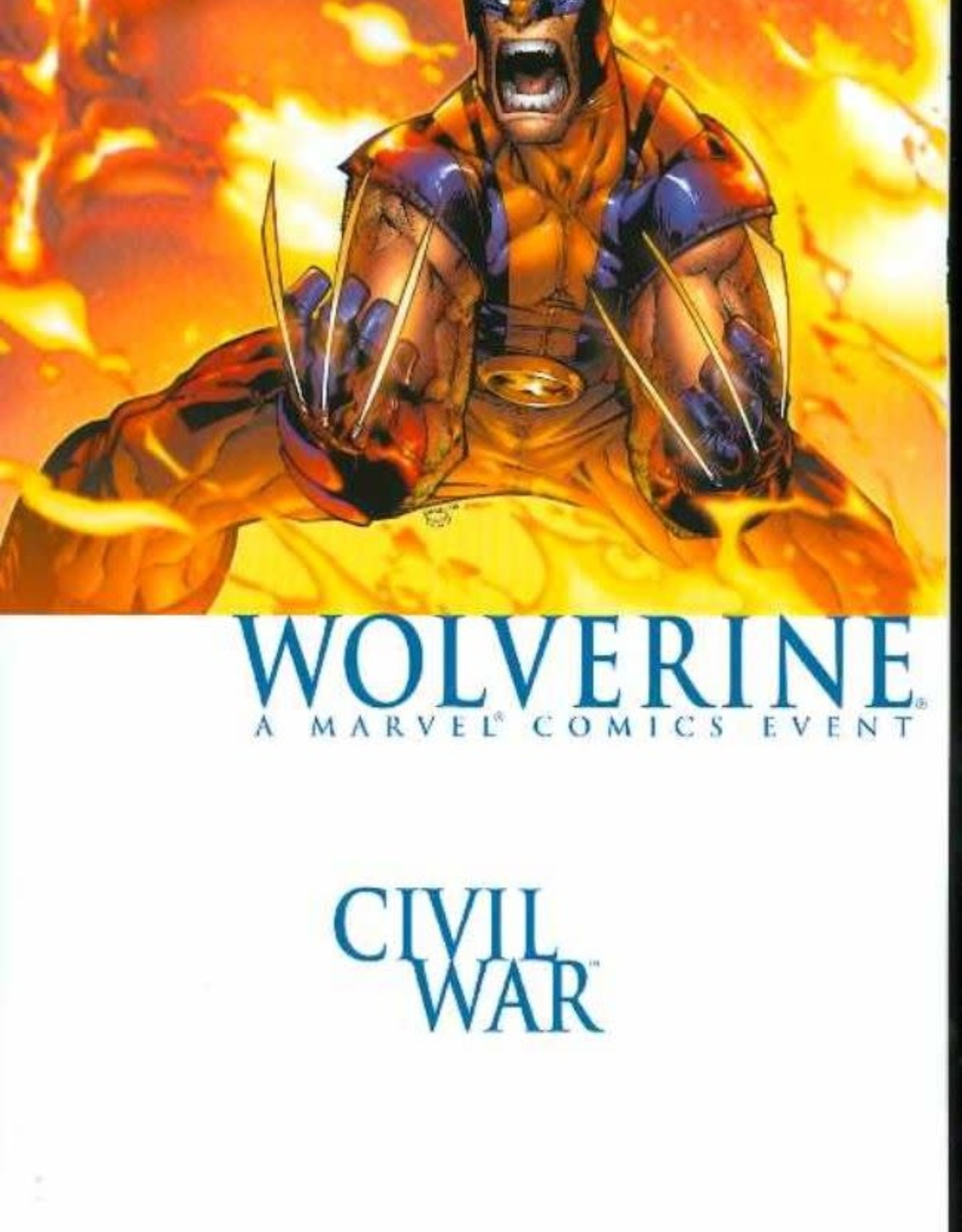 Marvel Comics Civil War Wolverine
