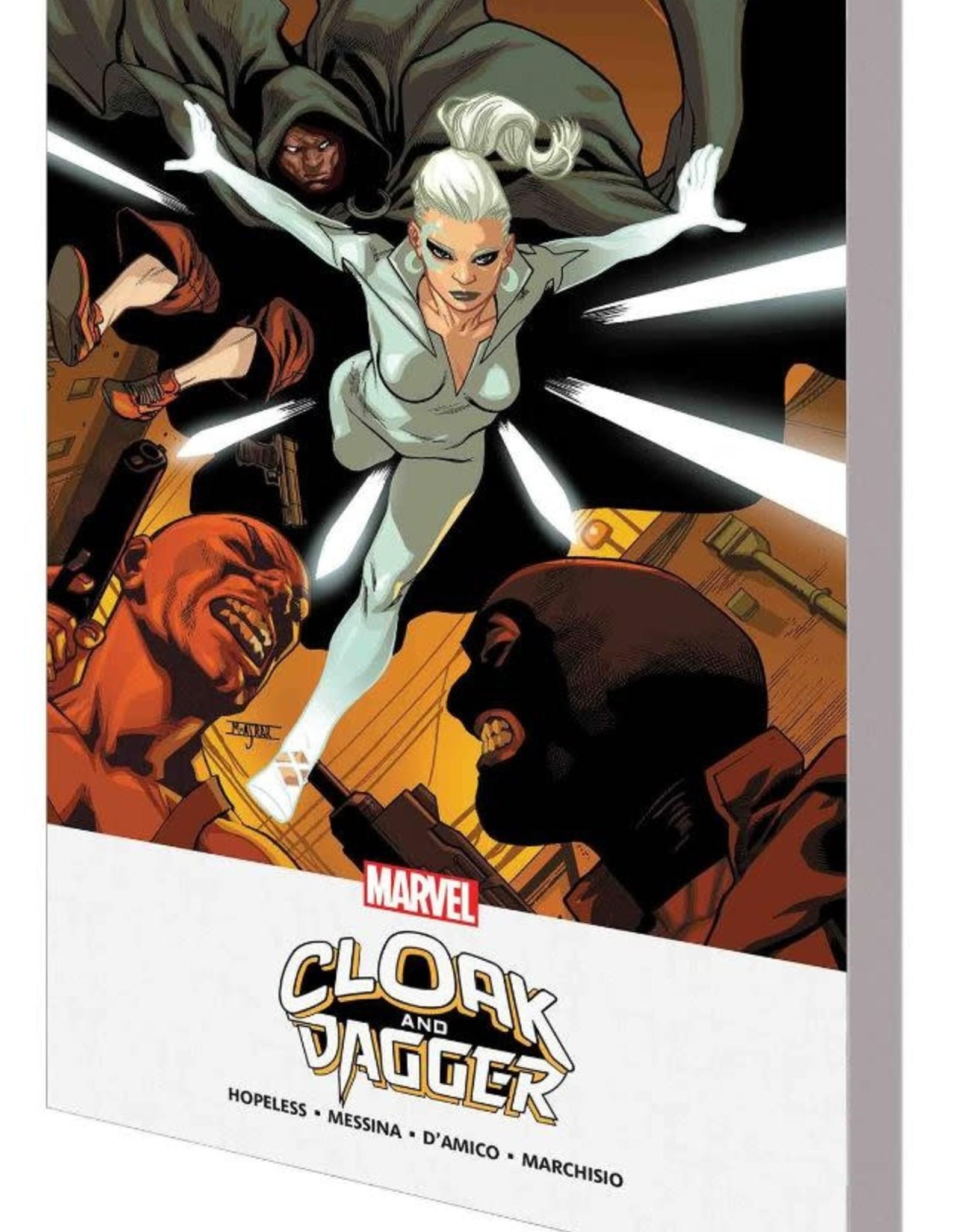 Marvel Comics Cloak & Dagger: Shades of Grey TP