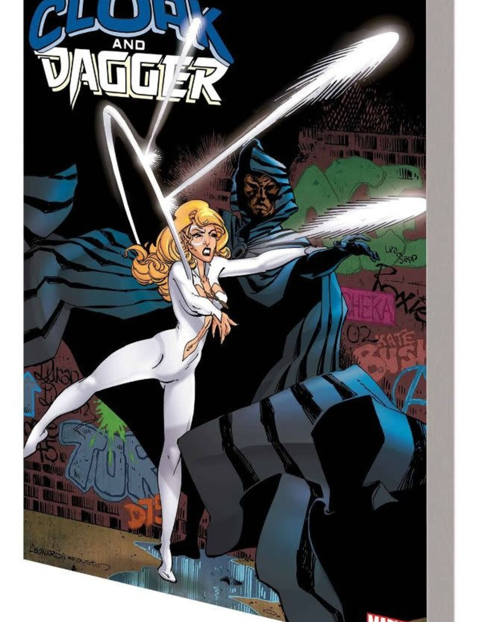 Marvel Comics Cloak and Dagger Shadow and Light