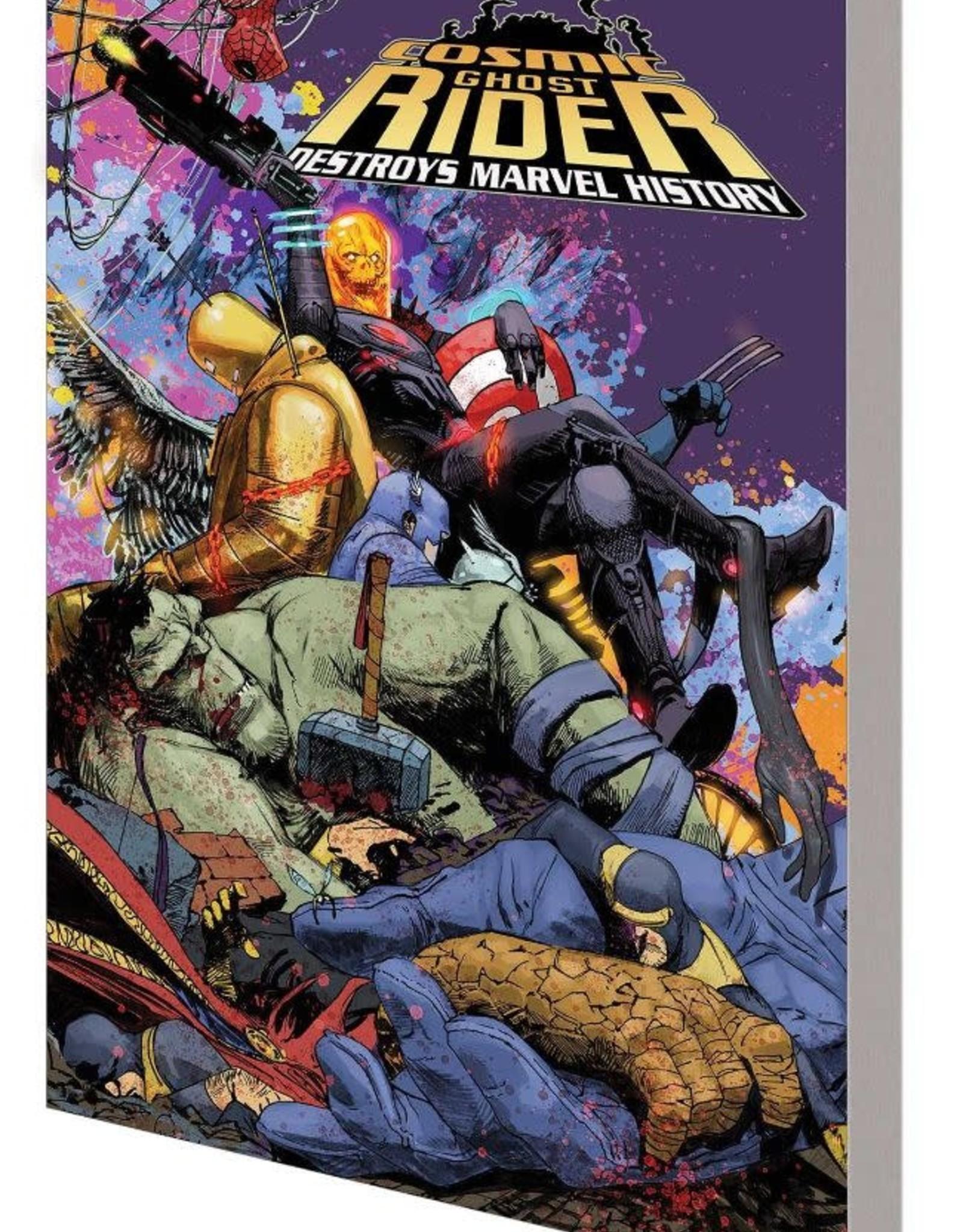 Marvel Comics Cosmic Ghost Rider Destroys Marvel History