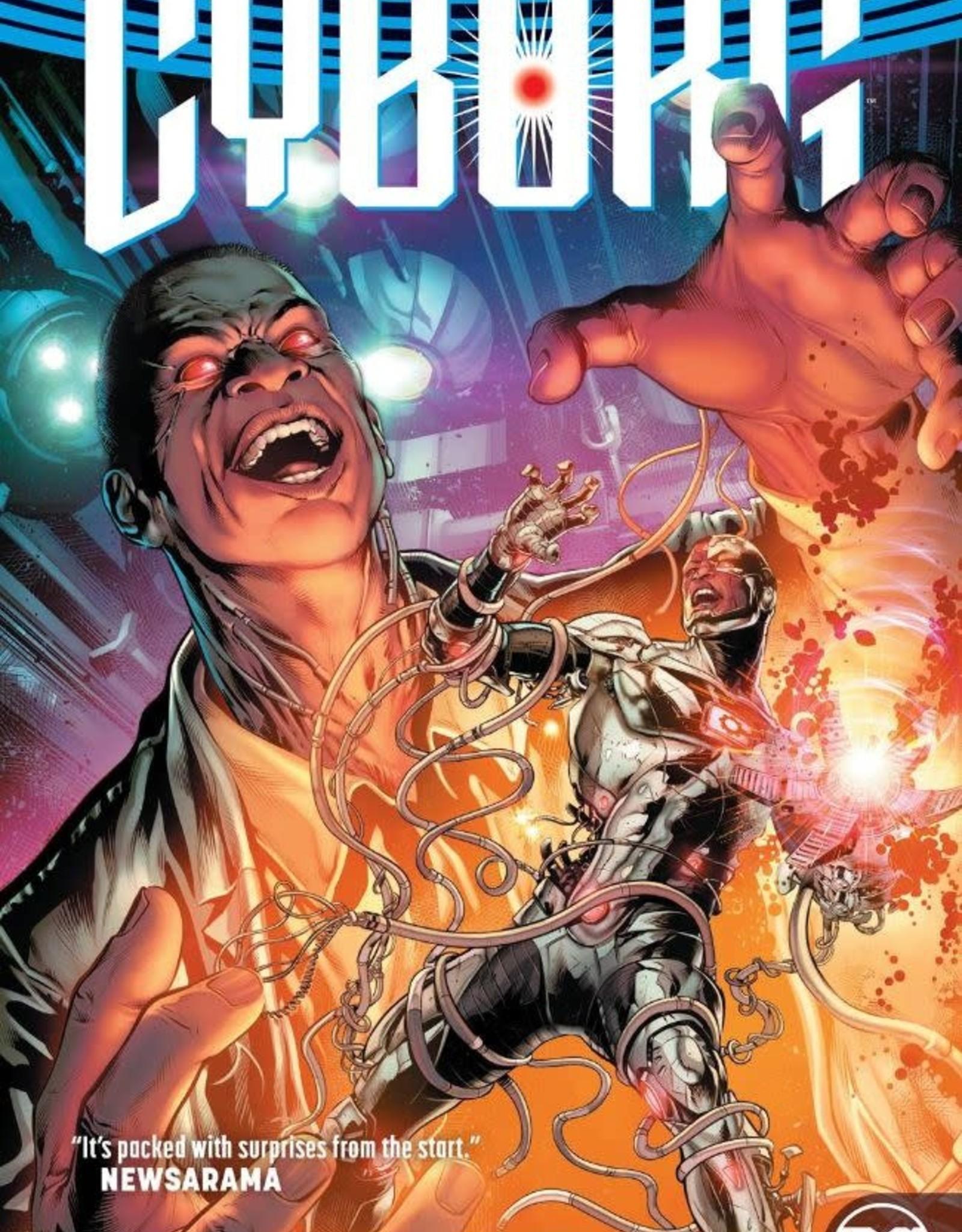 DC Comics Cyborg Vol 02: Danger in Detroit TP