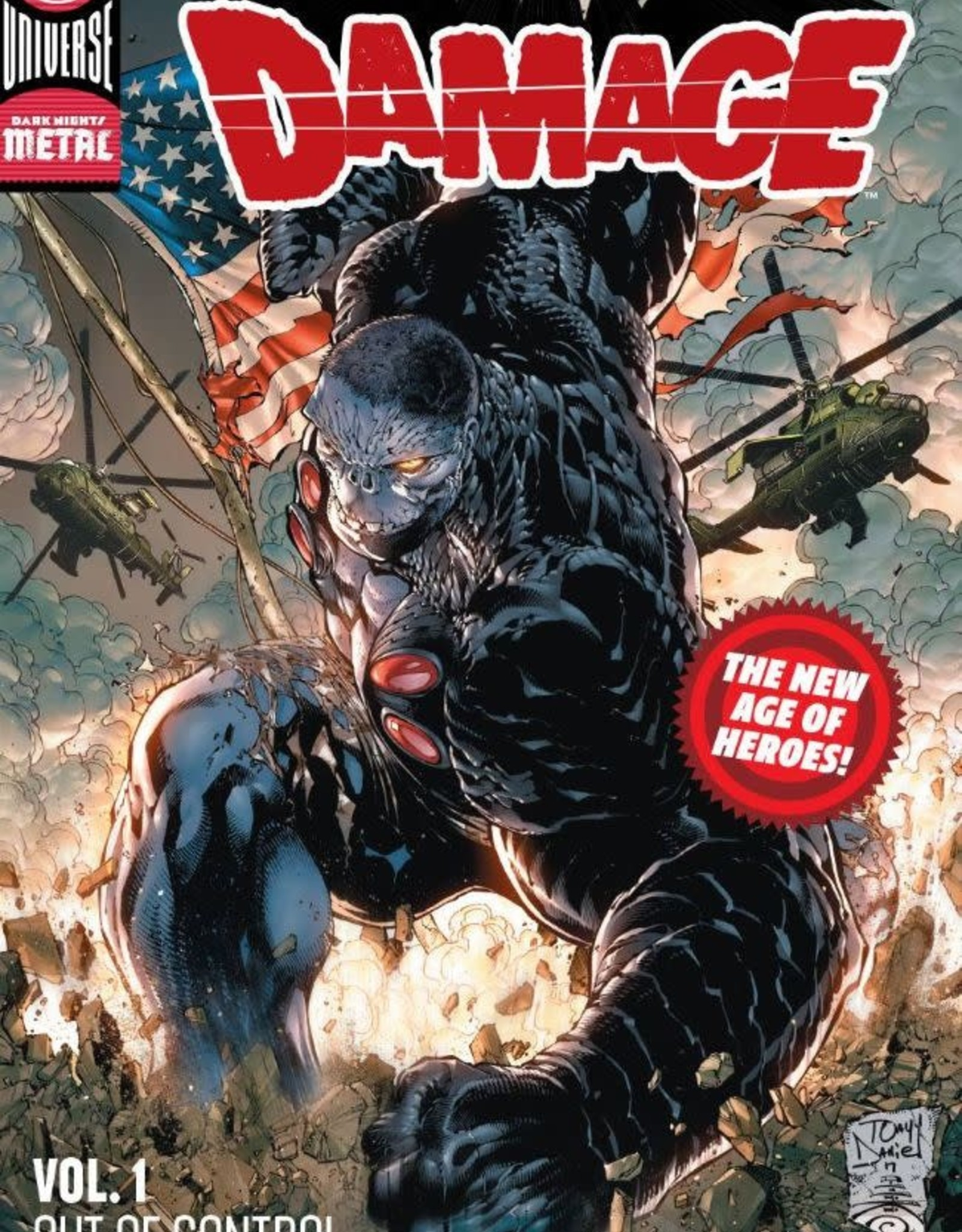 DC Comics Damage Vol 01 Out of Control