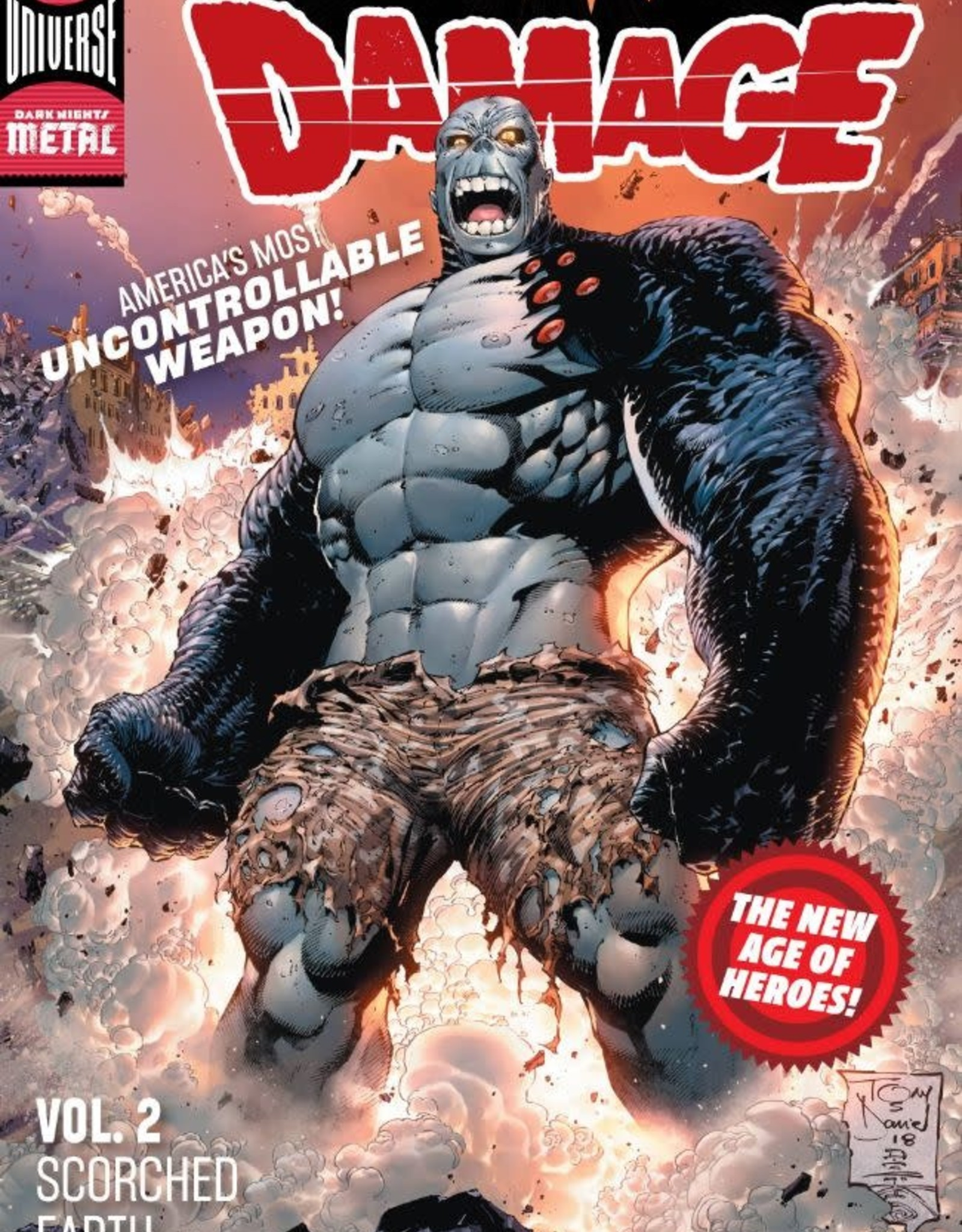 DC Comics Damage Vol 02 Scorched Earth