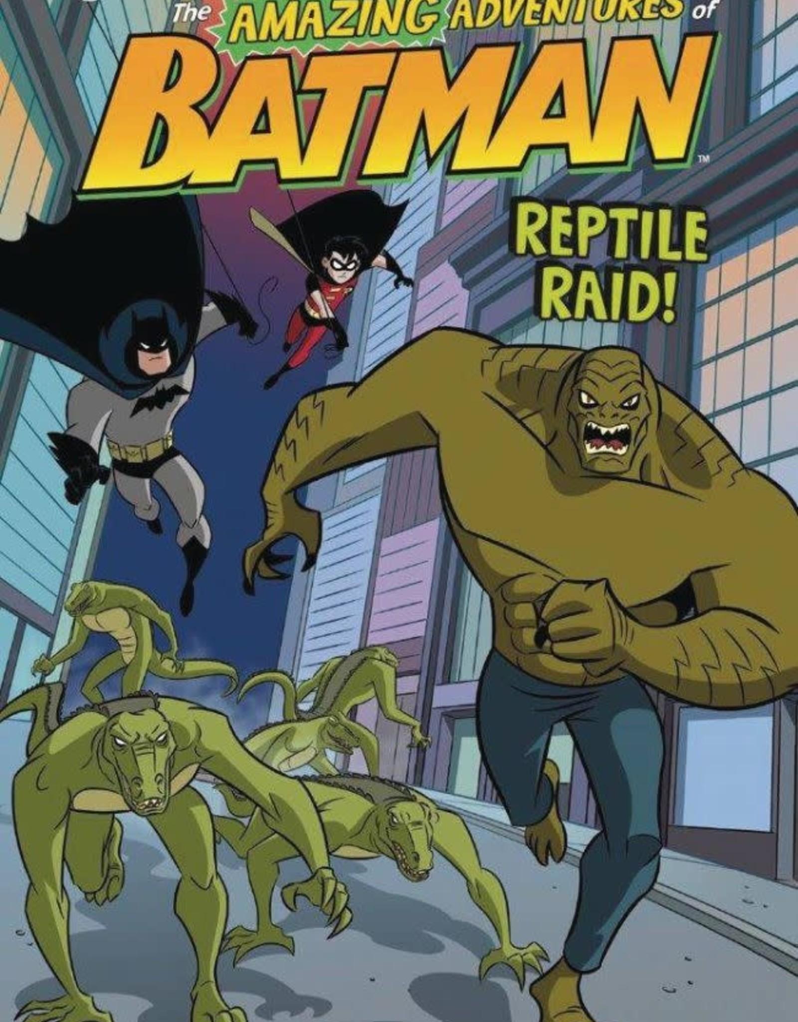 Stone Arch Books DC Amazing Adventures of Batman: Reptile Raid GN