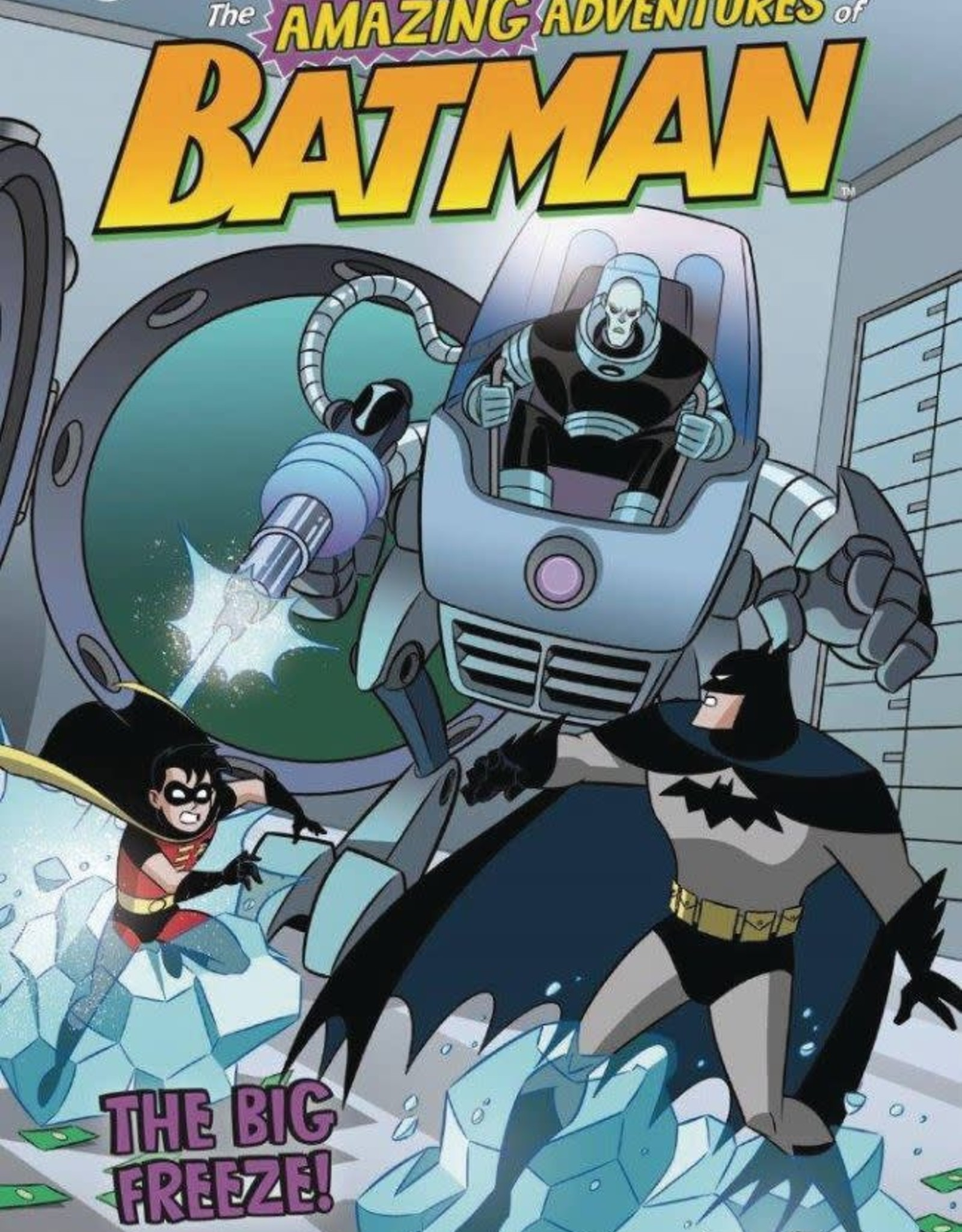 Stone Arch Books DC Amazing Adventures of Batman: The Big Freeze YR GN