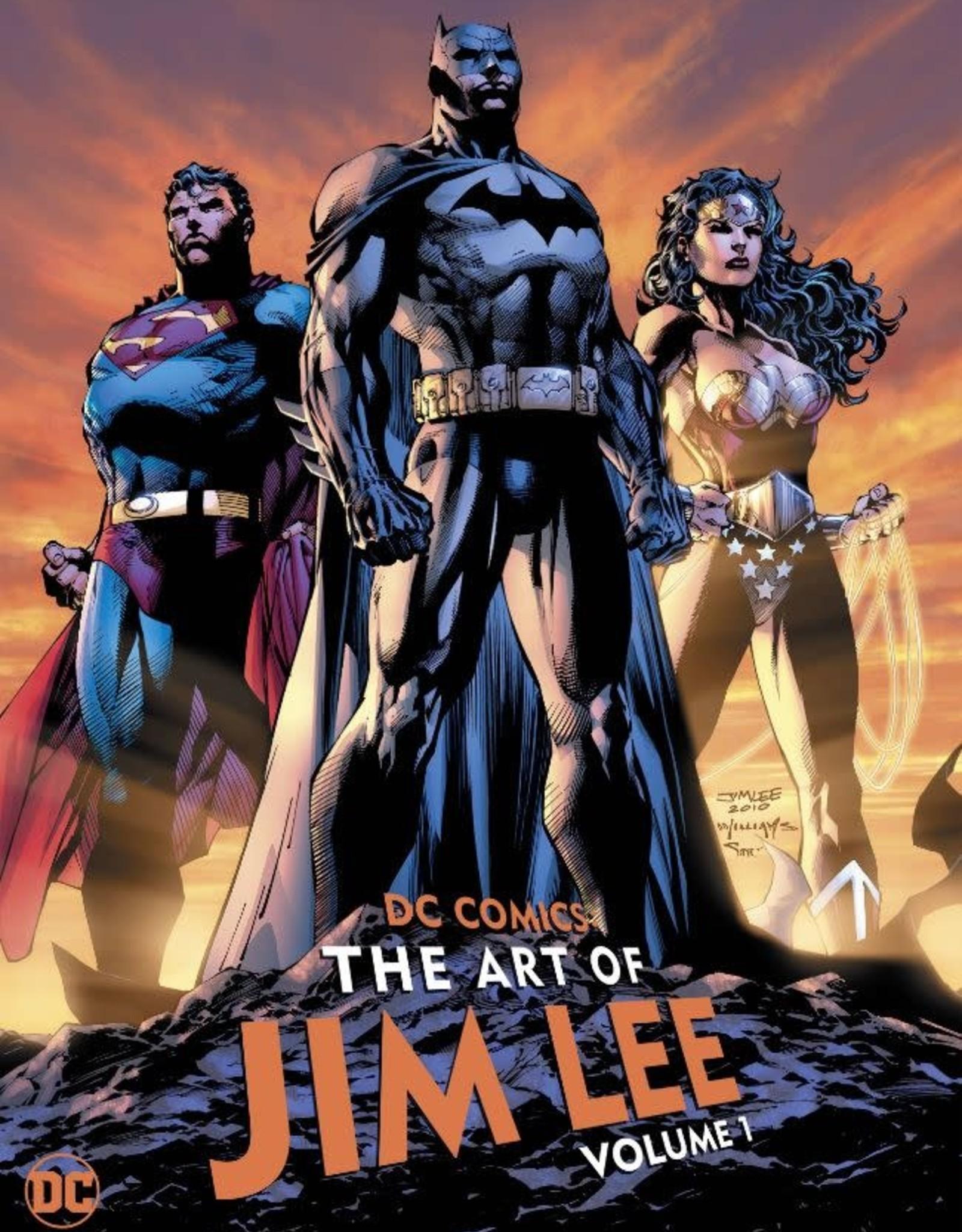 DC Comics DC Comics The Art of Jim Lee Vol 01 HC
