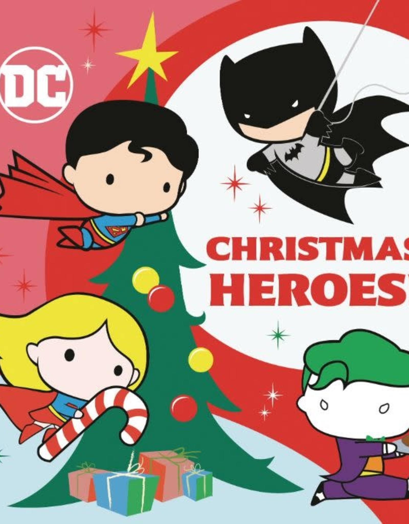 Random House Books Young Reader DC Justice League Christmas Heroes Board Book