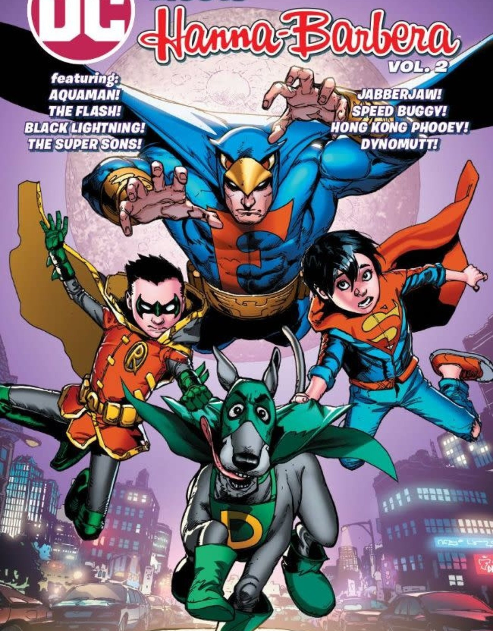 DC Comics DC Meets Hanna-Barbera Vol 02