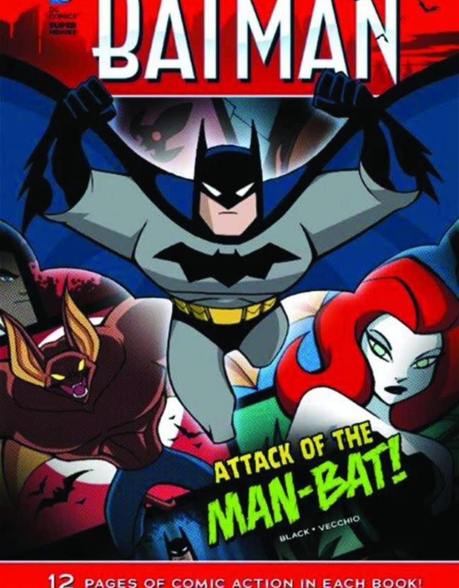 Capstone Publishing DC Super Heroes Batman Attack of the Man-Bat
