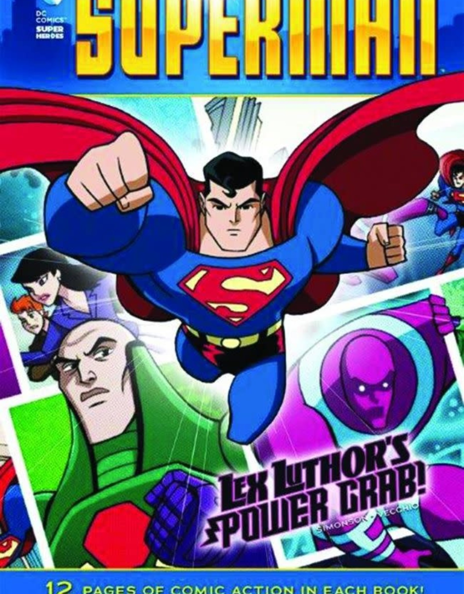 Capstone Publishing DC Super Heroes Superman Lex Luthor's Power Grab!
