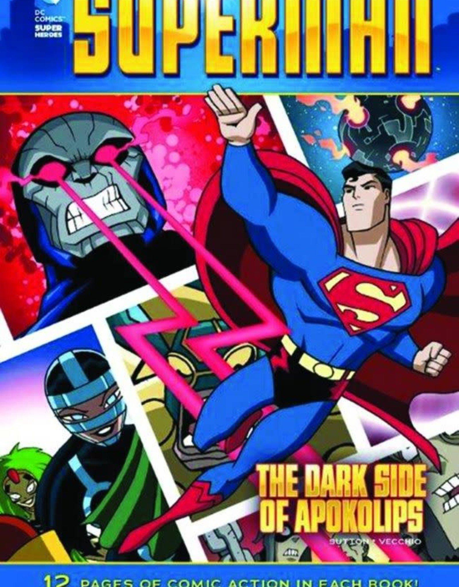 Capstone Publishing DC Super Heroes Superman The Dark Side of Apokolips