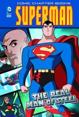 Capstone Publishing DC Super Heroes Superman The Real Man of Steel