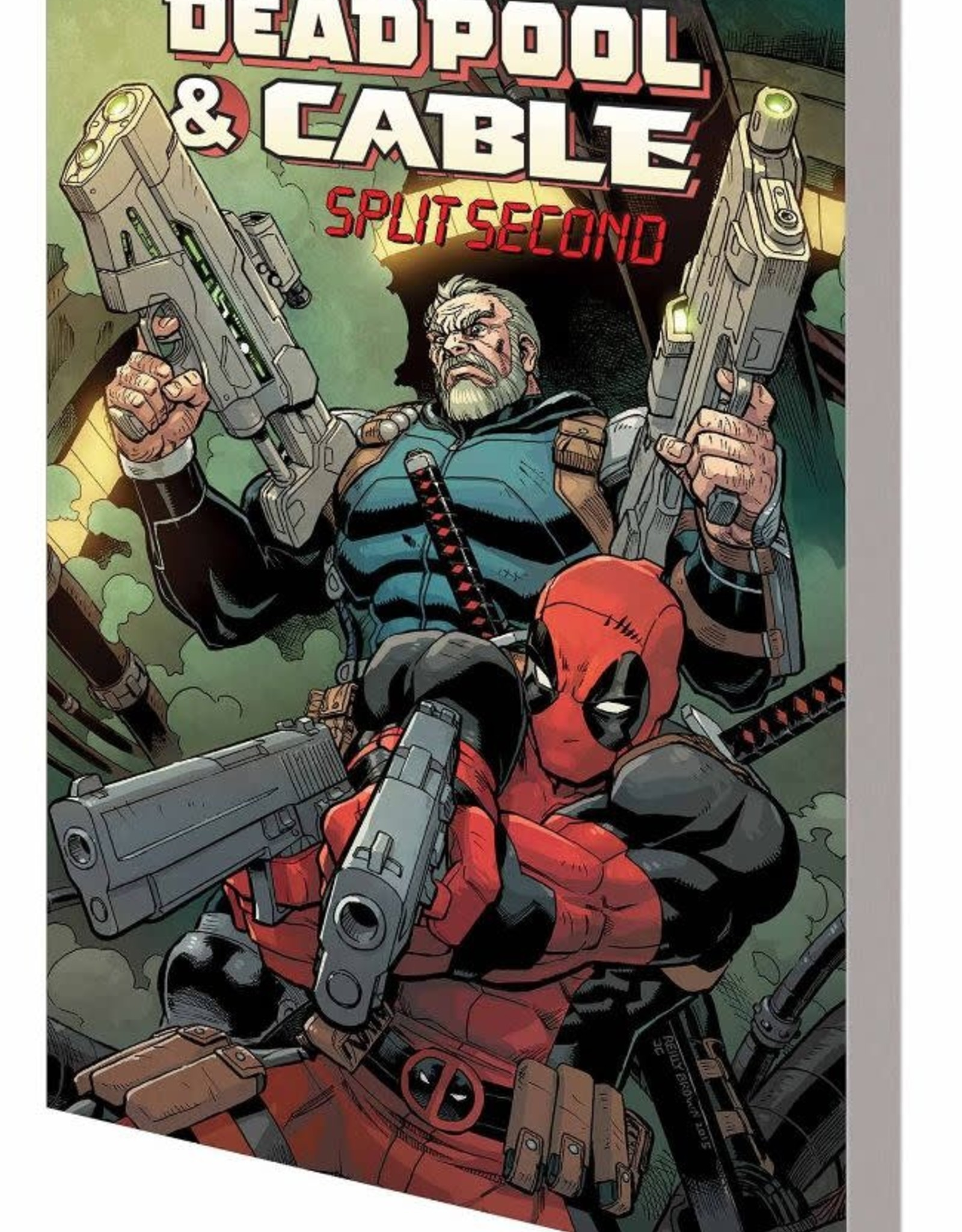 Marvel Comics Deadpool & Cable: Split Second TP
