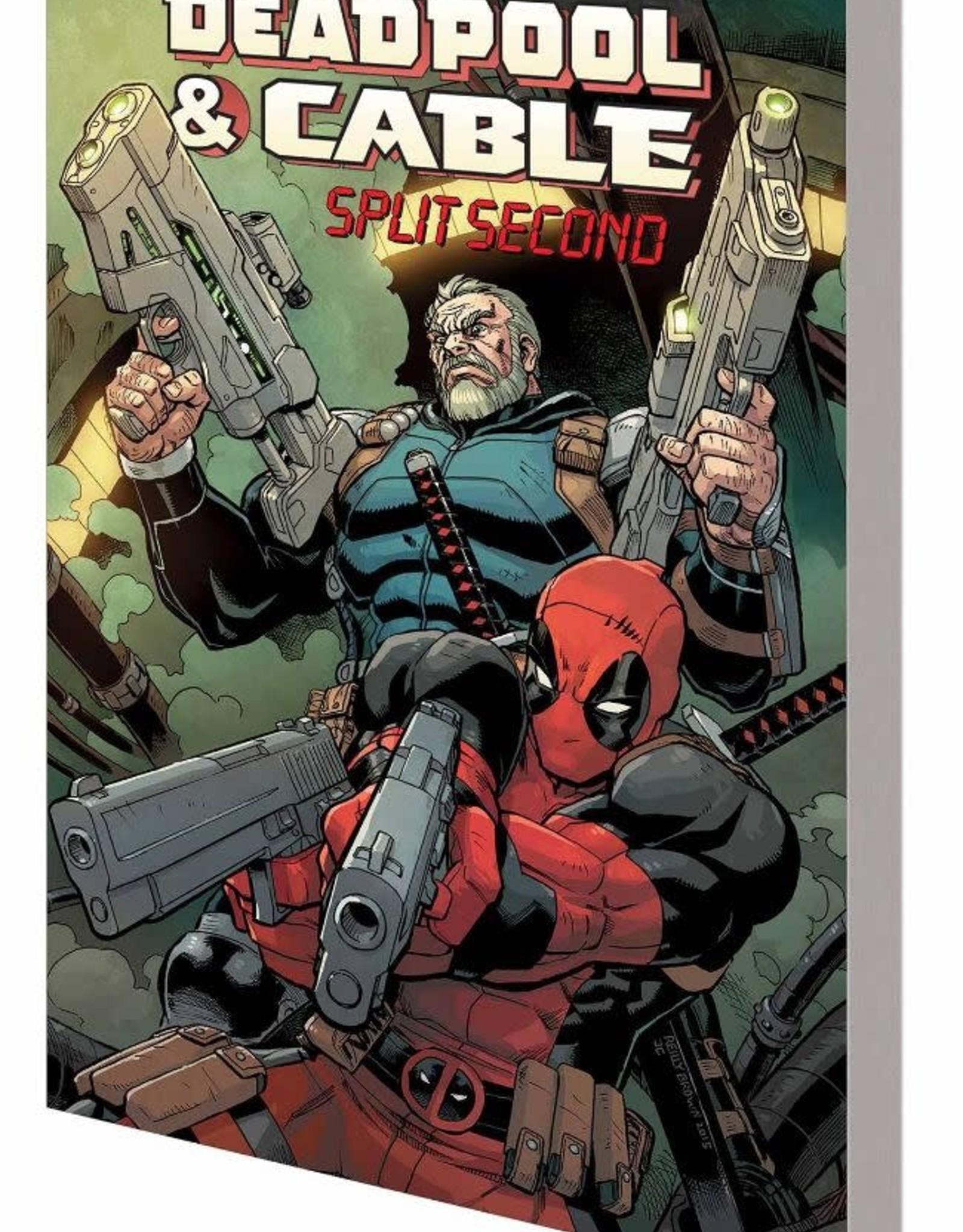 Marvel Comics Deadpool & Cable Split Second