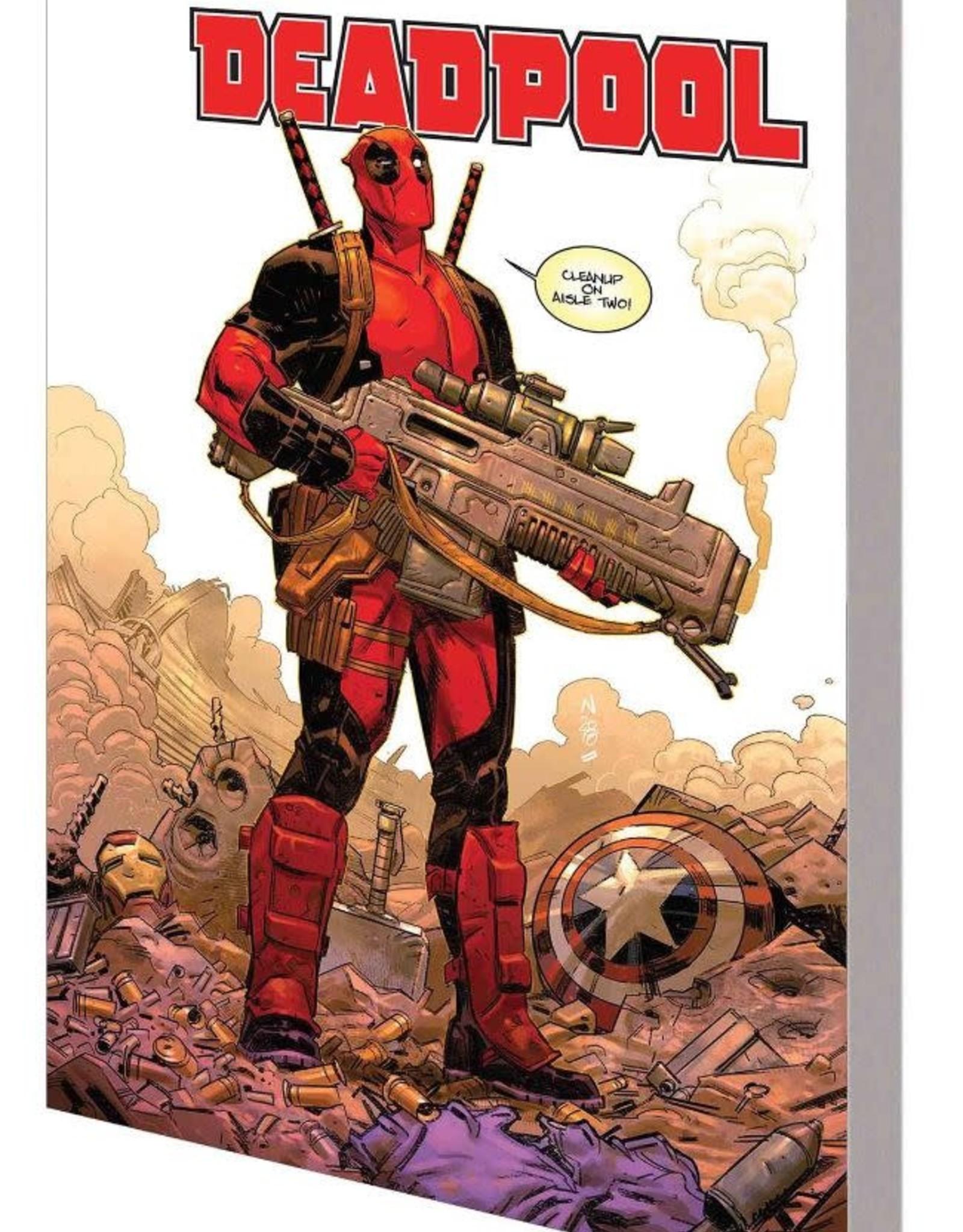 Marvel Comics Deadpool Vol 01 Mercin' Hard For the Money