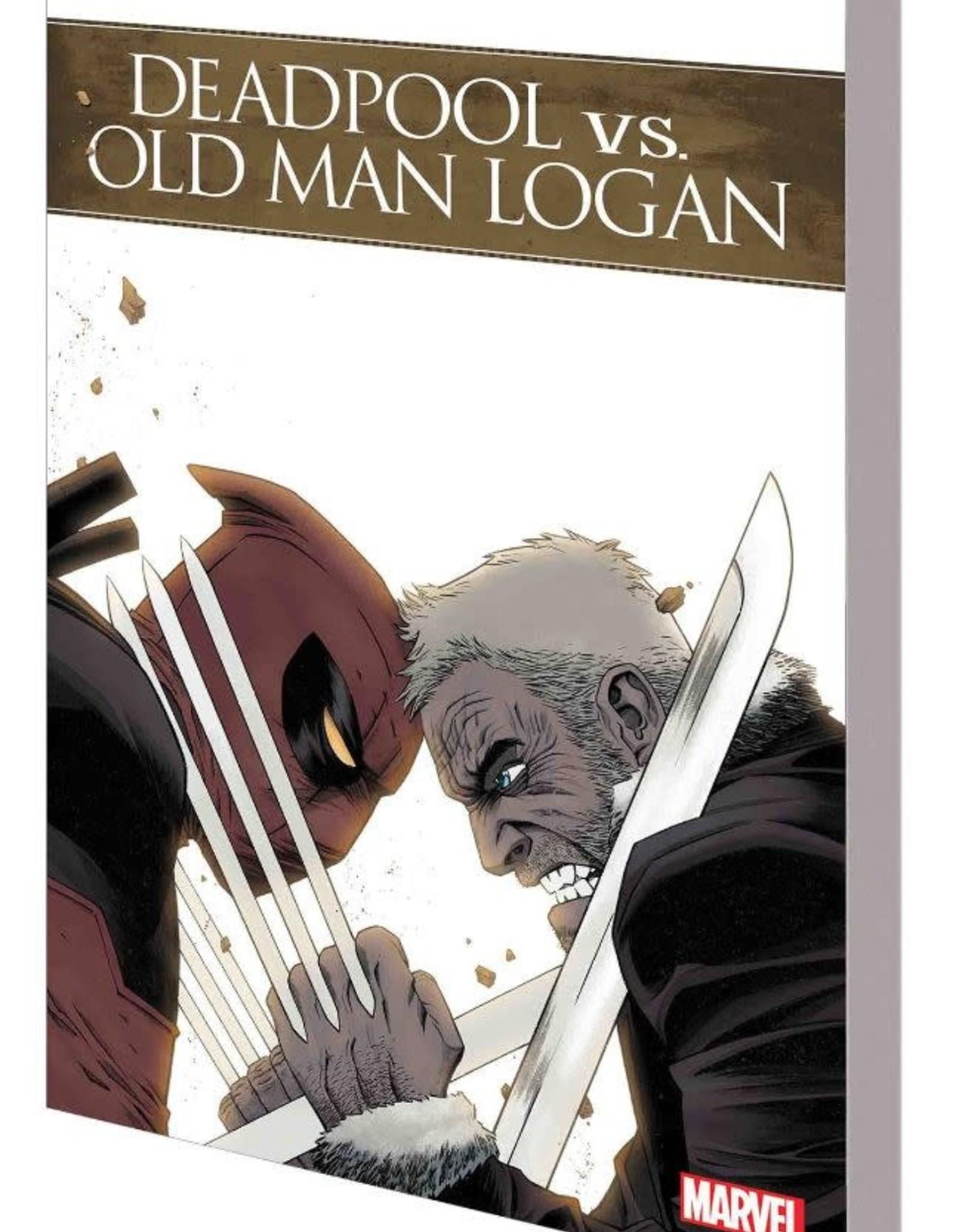 Marvel Comics Deadpool vs Old Man Logan