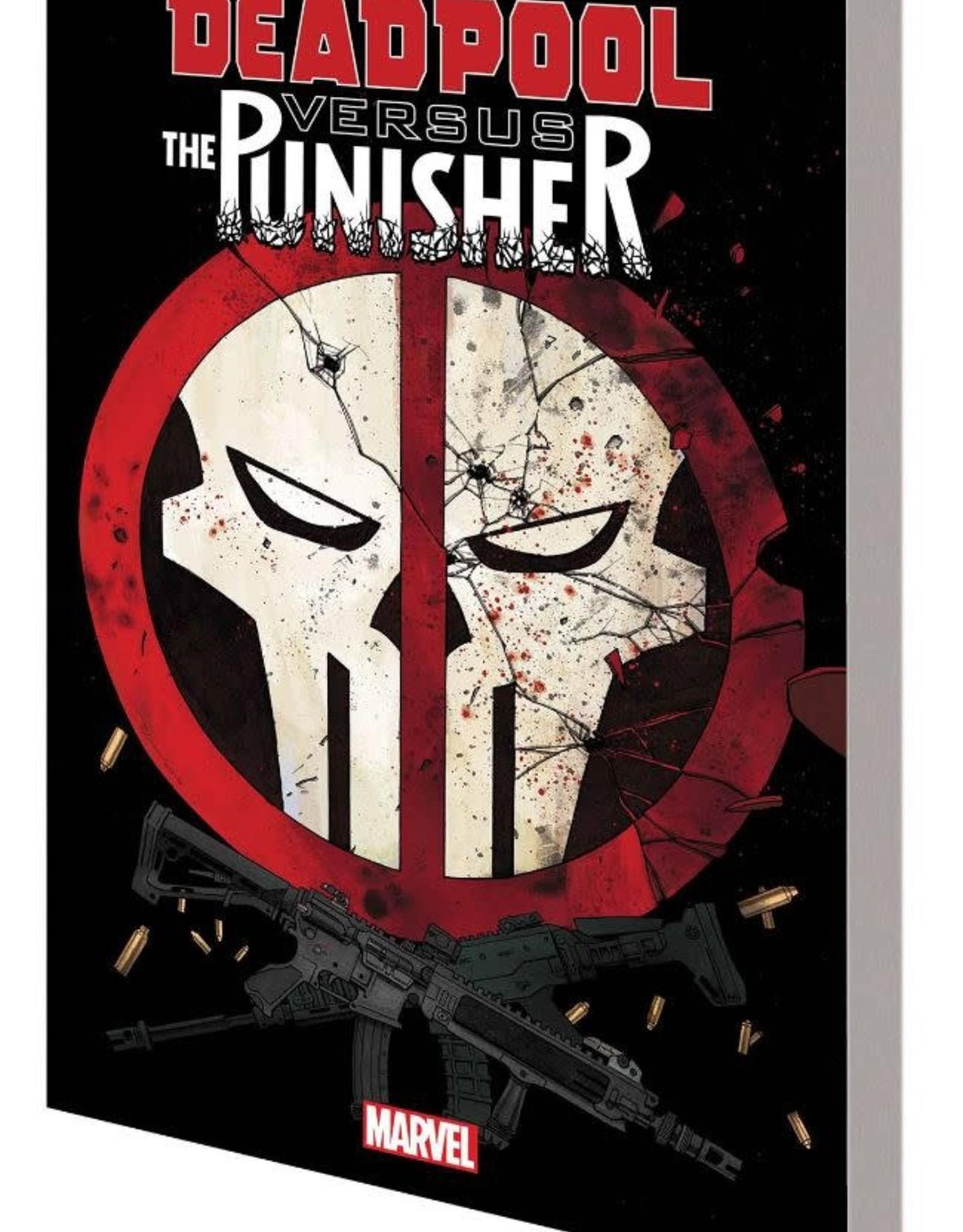 Marvel Comics Deadpool vs The Punisher