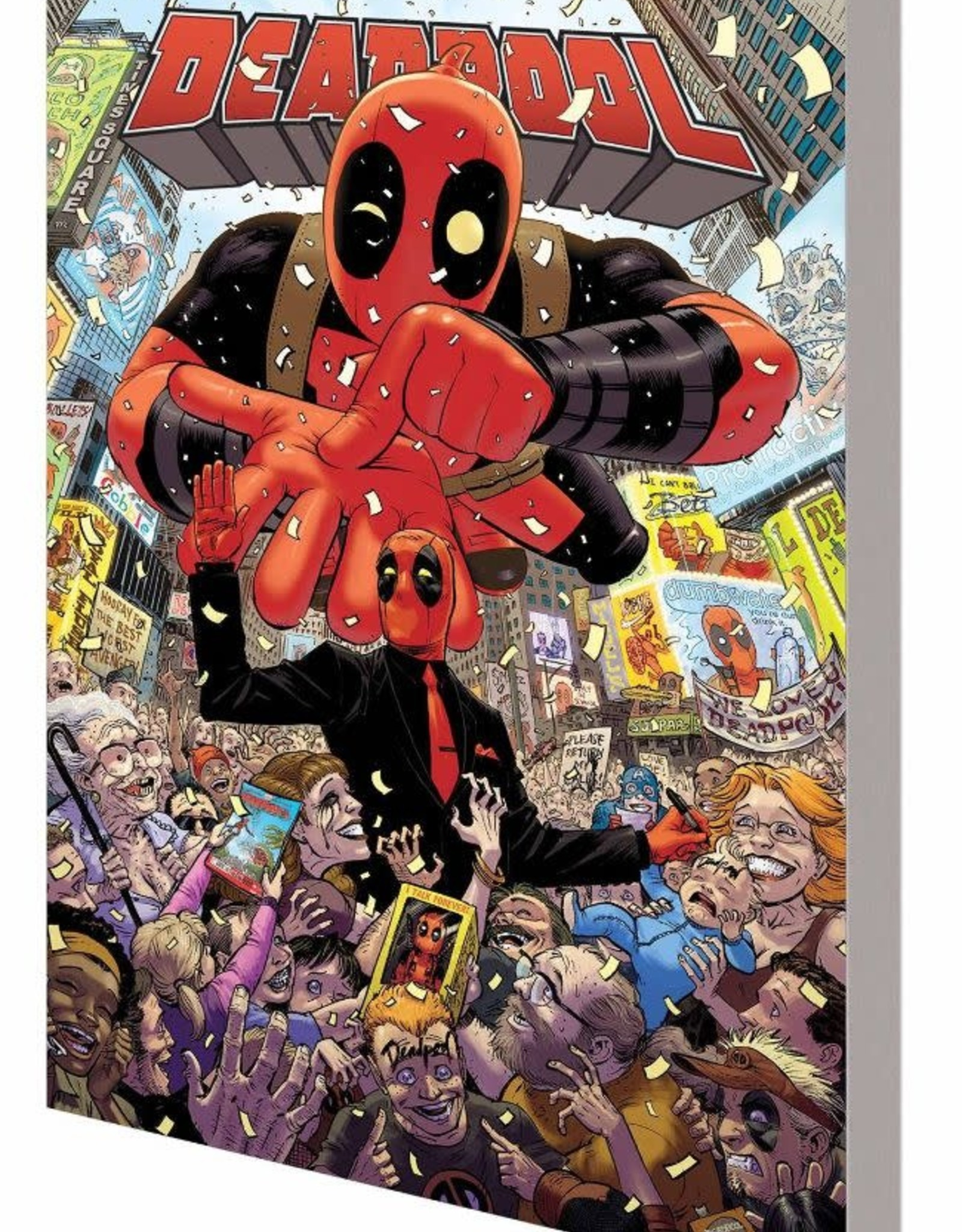 Marvel Comics Deadpool World's Greatest Vol 01 Millionaire with a Mouth