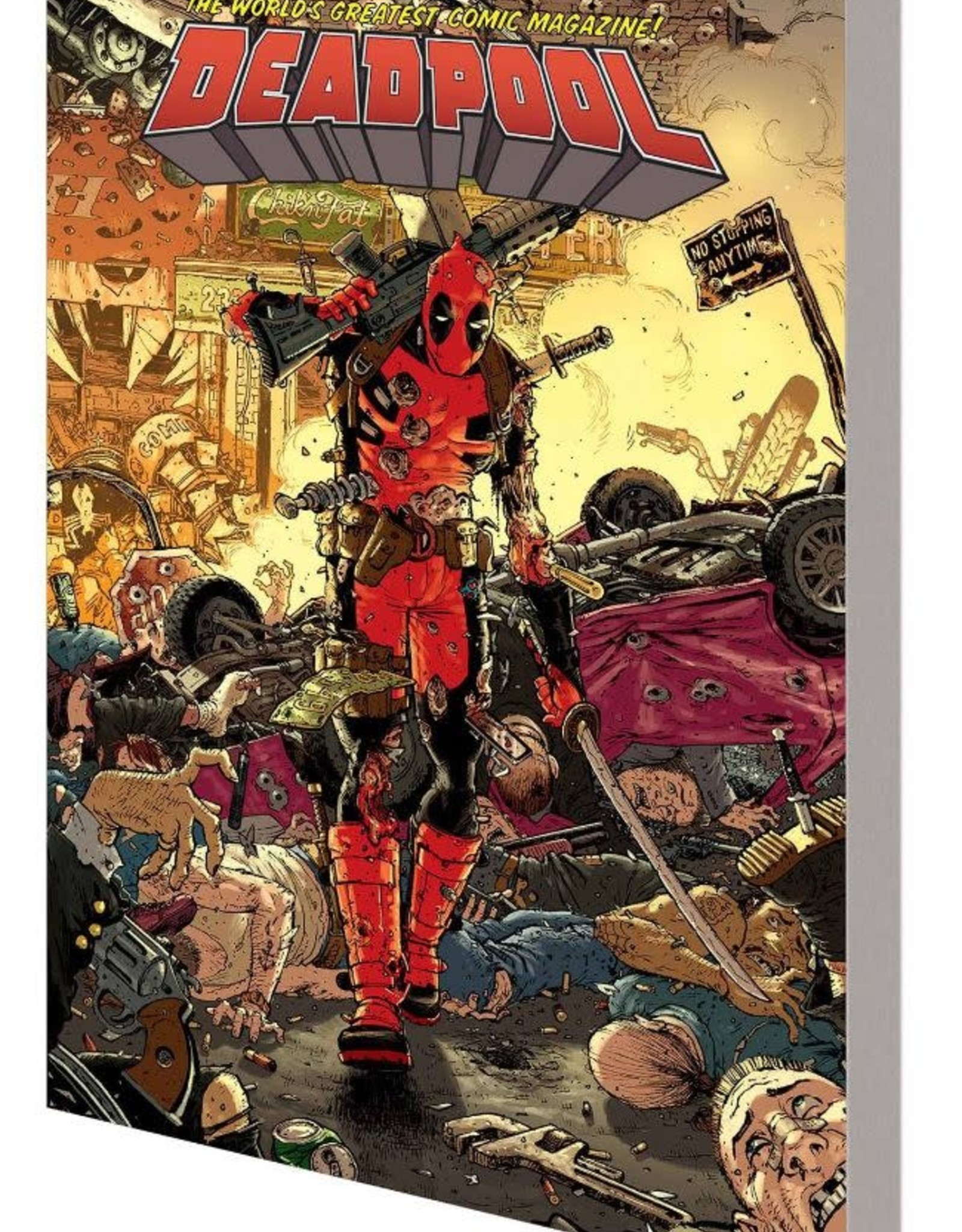 Marvel Comics Deadpool World's Greatest Vol 02 End of an Error