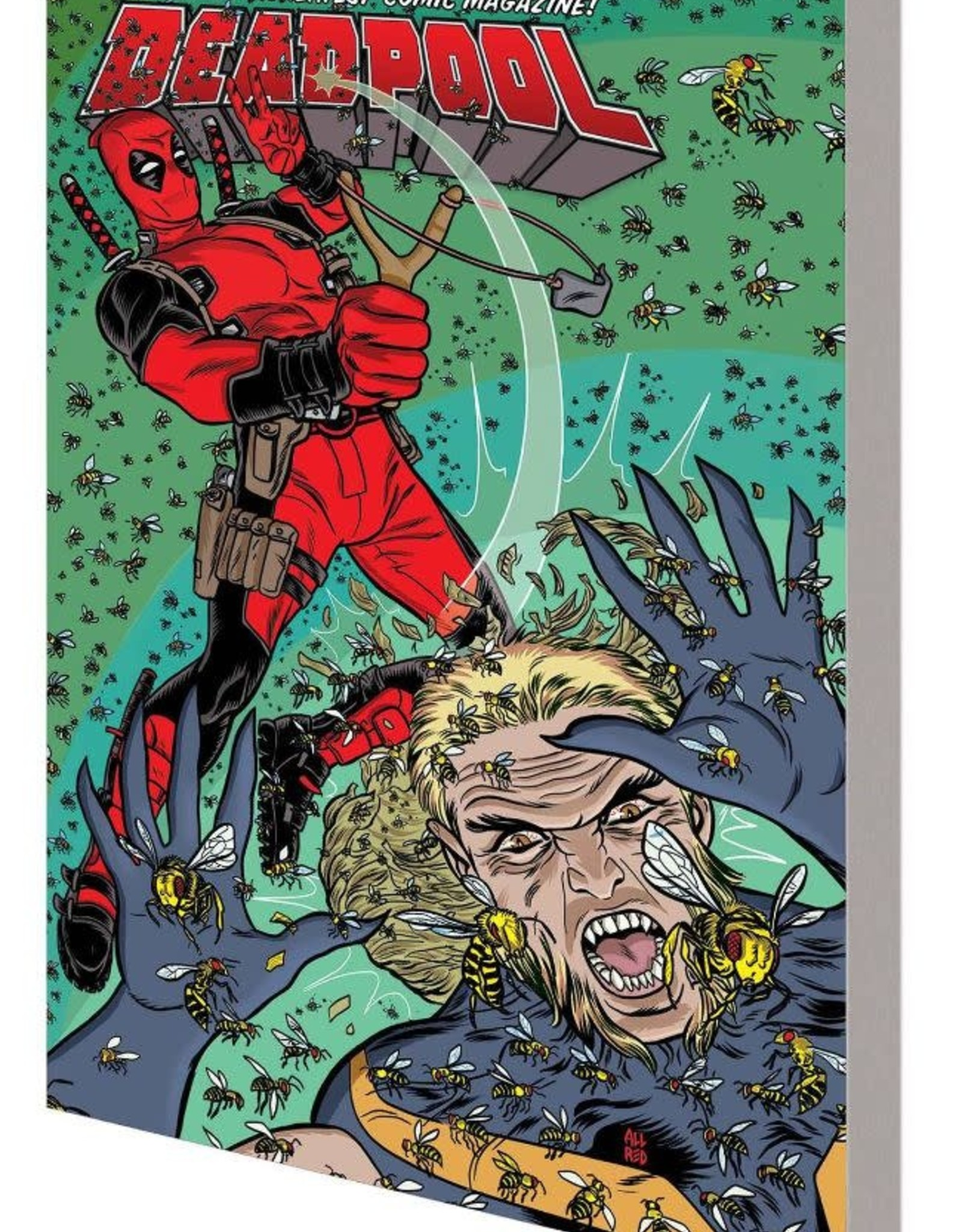 Marvel Comics Deadpool World's Greatest Vol 03 Deadpool vs Sabretooth