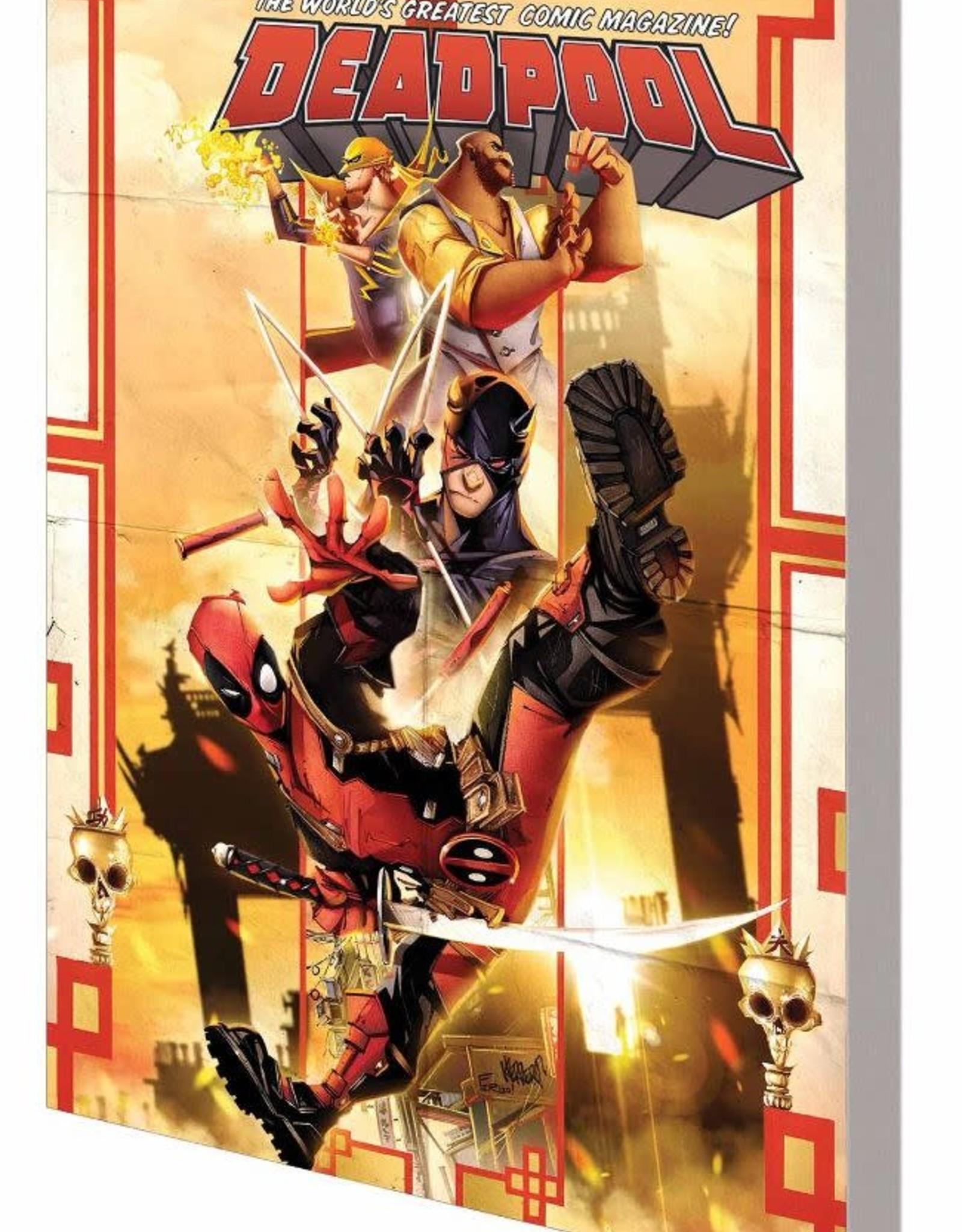 Marvel Comics Deadpool World's Greatest Vol 04 Temporary Insanitation