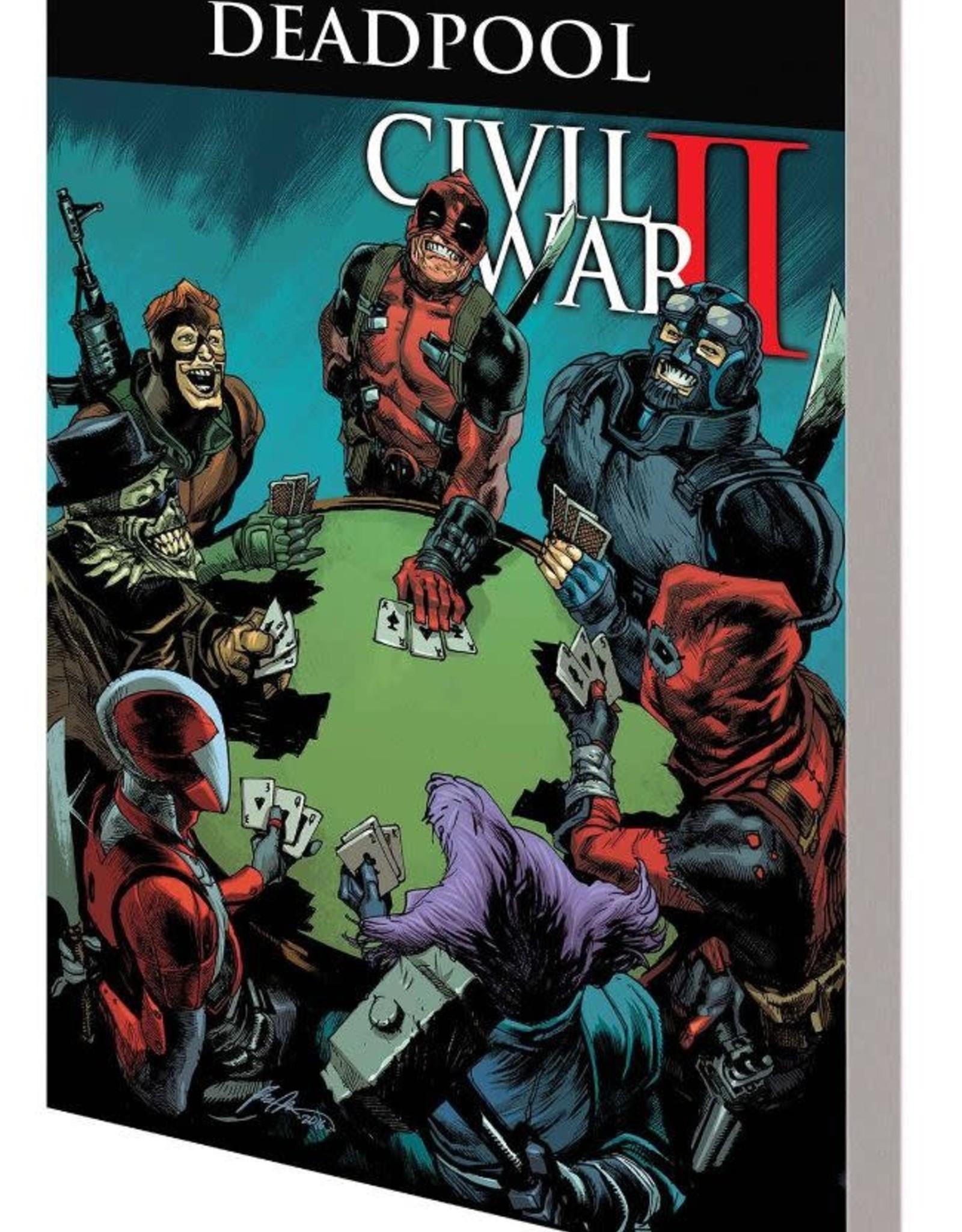 Marvel Comics Deadpool: World's Greatest Vol 05: Civil War II TP