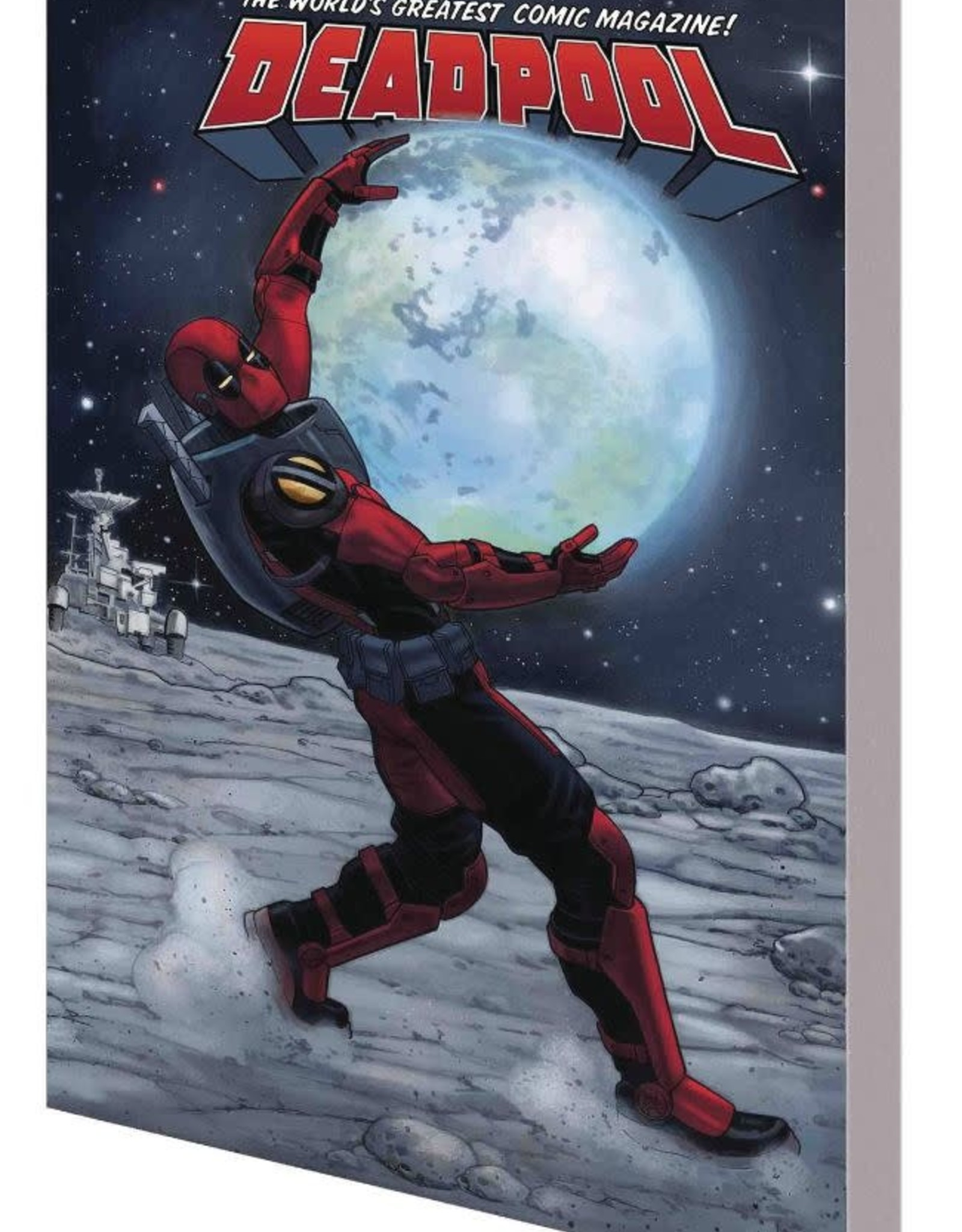 Marvel Comics Deadpool World's Greatest Vol 09 Deadpool in Space