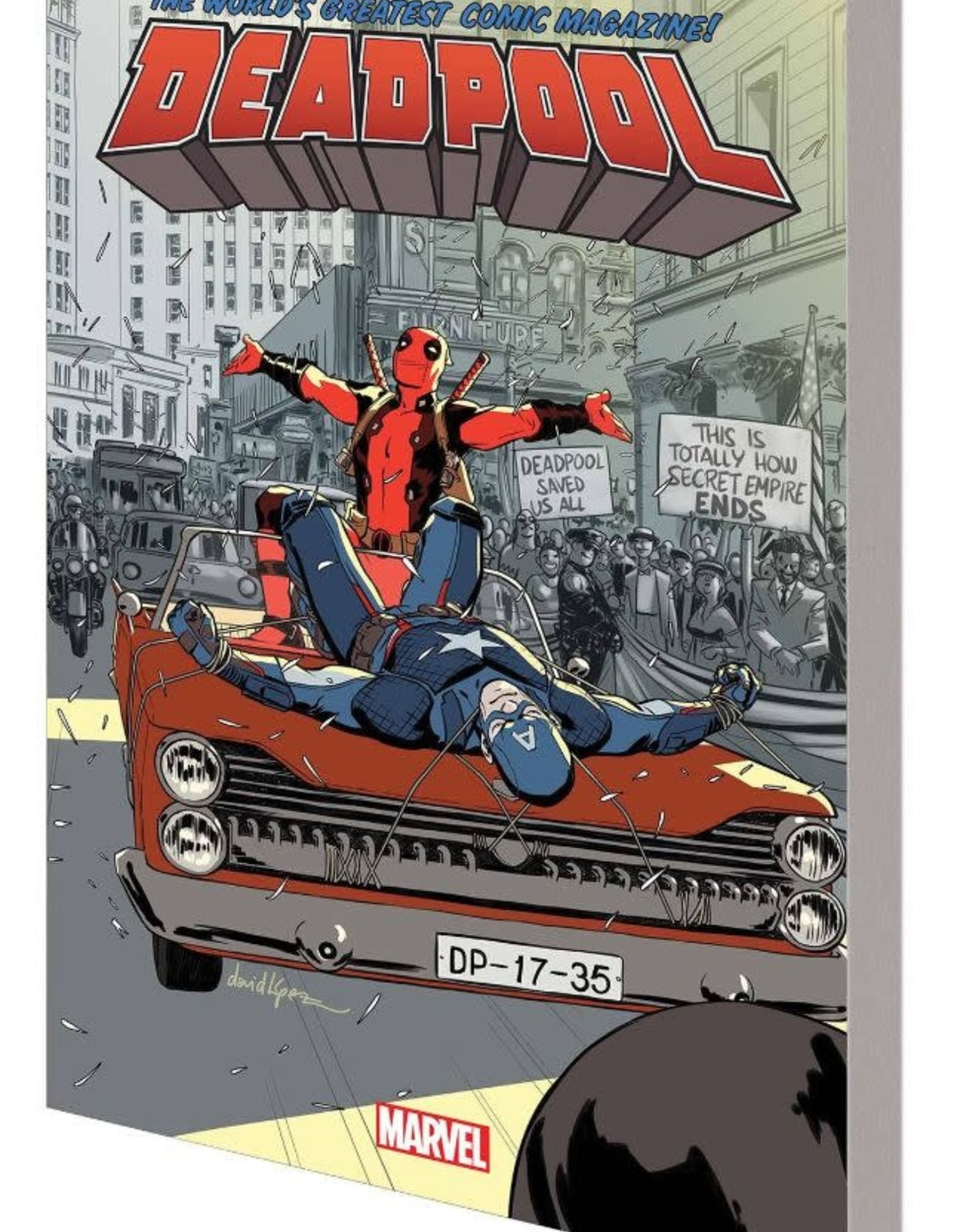 Marvel Comics Deadpool World's Greatest Vol 10 Secret Empire