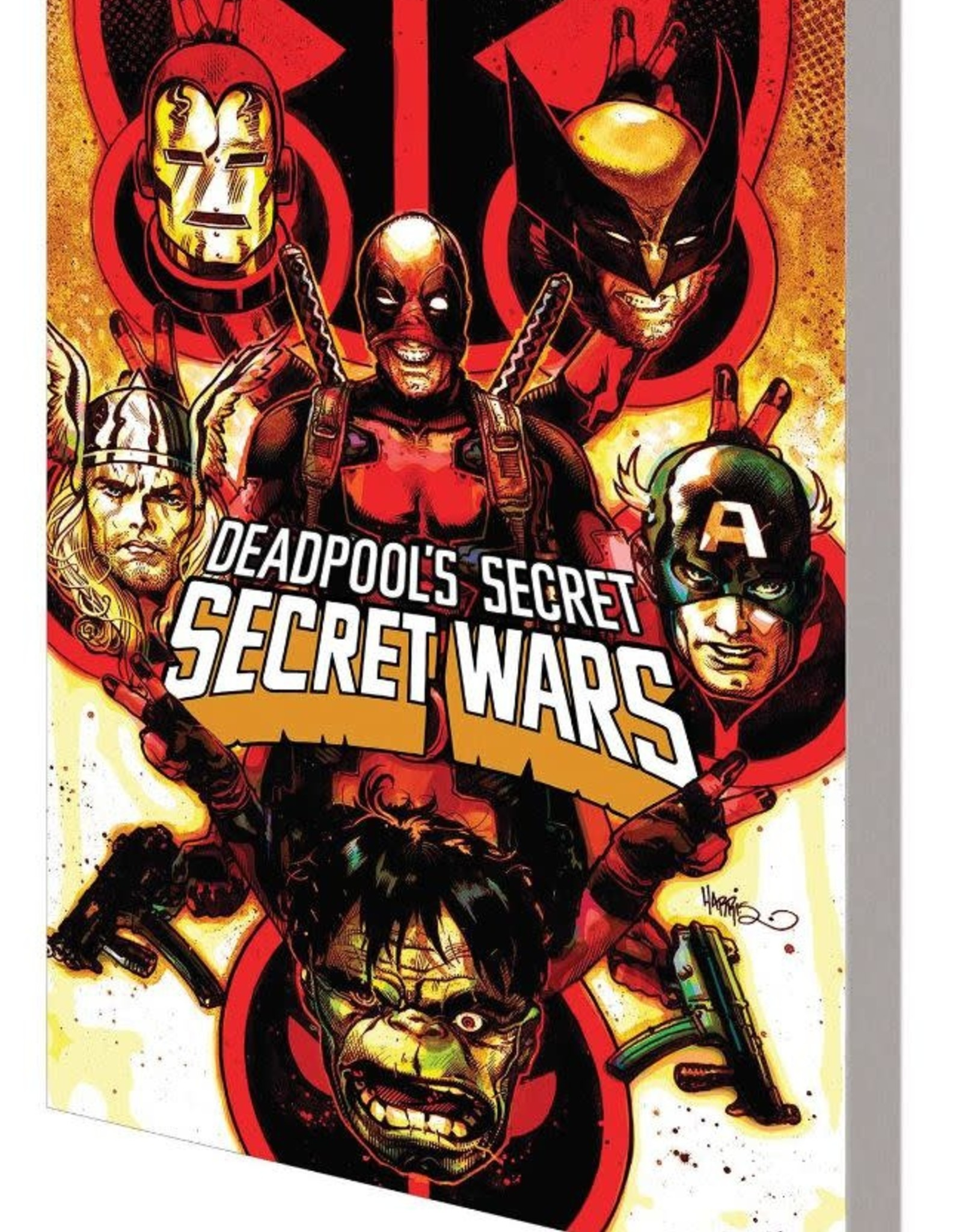 Marvel Comics Deadpool's Secret Secret Wars TP