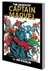 Marvel Comics Death Of Captain Marvel TP