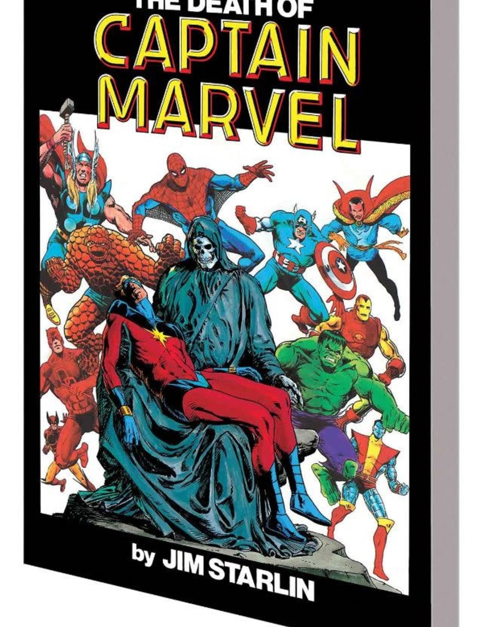 Marvel Comics Death Of Captain Marvel TP New Ptg