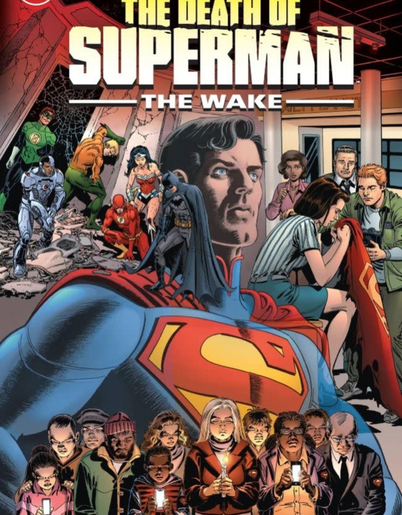 DC Comics Death of Superman: The Wake TP