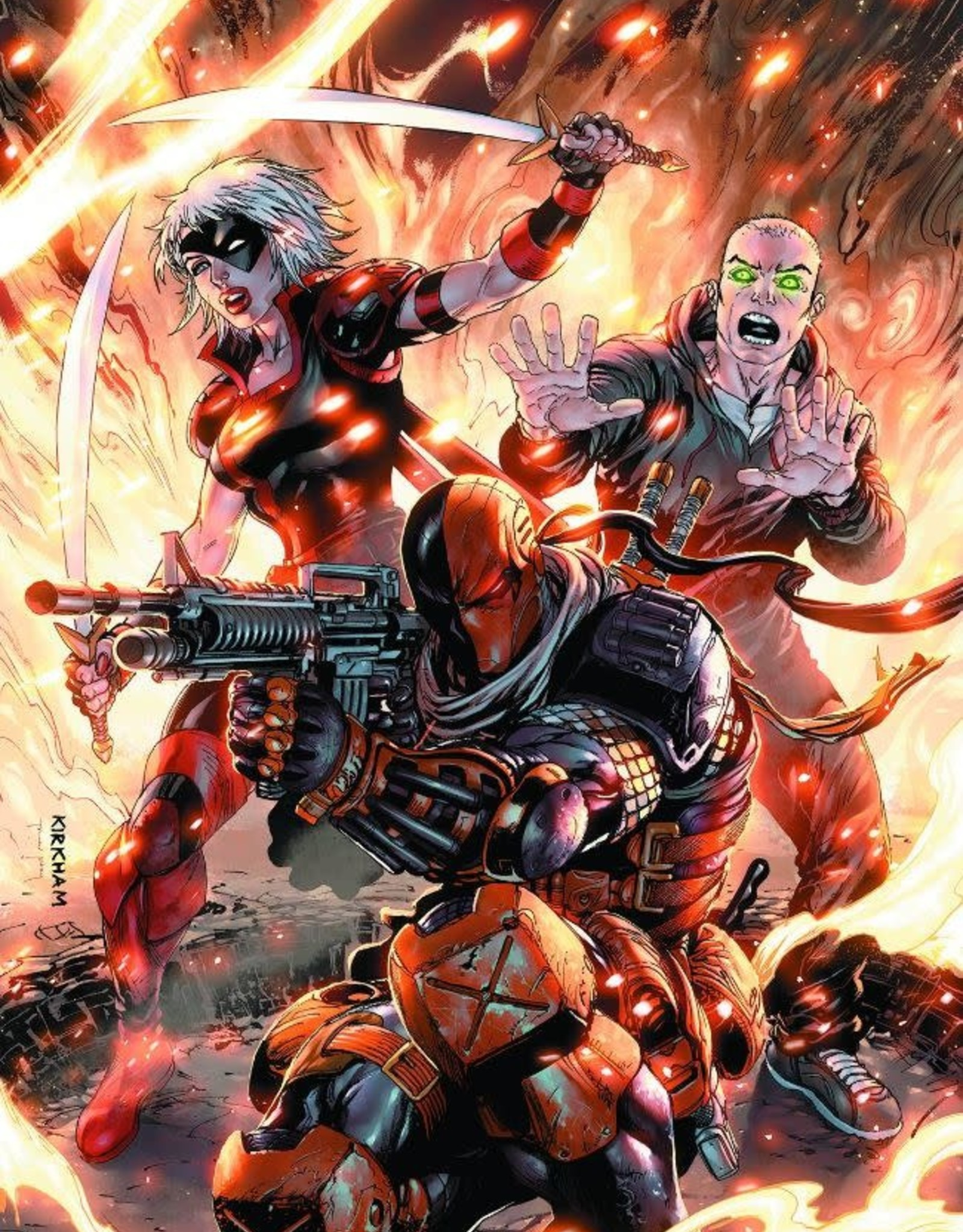 DC Comics Deathstroke Vol 04 Family Business
