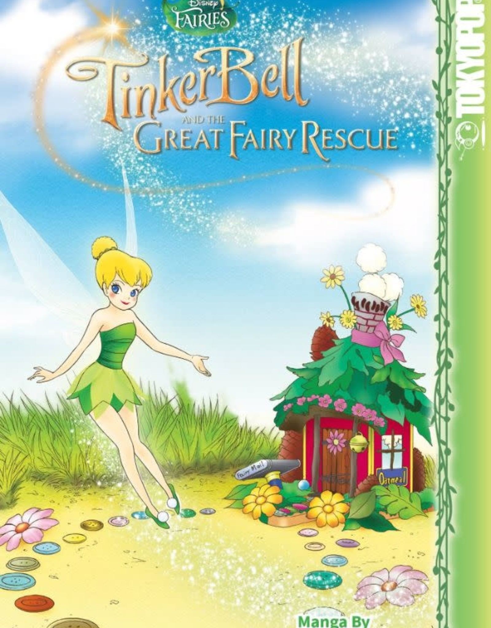 Tokyopop Disney Faries Manga Vol 05: Great Fairy Rescue YR GN
