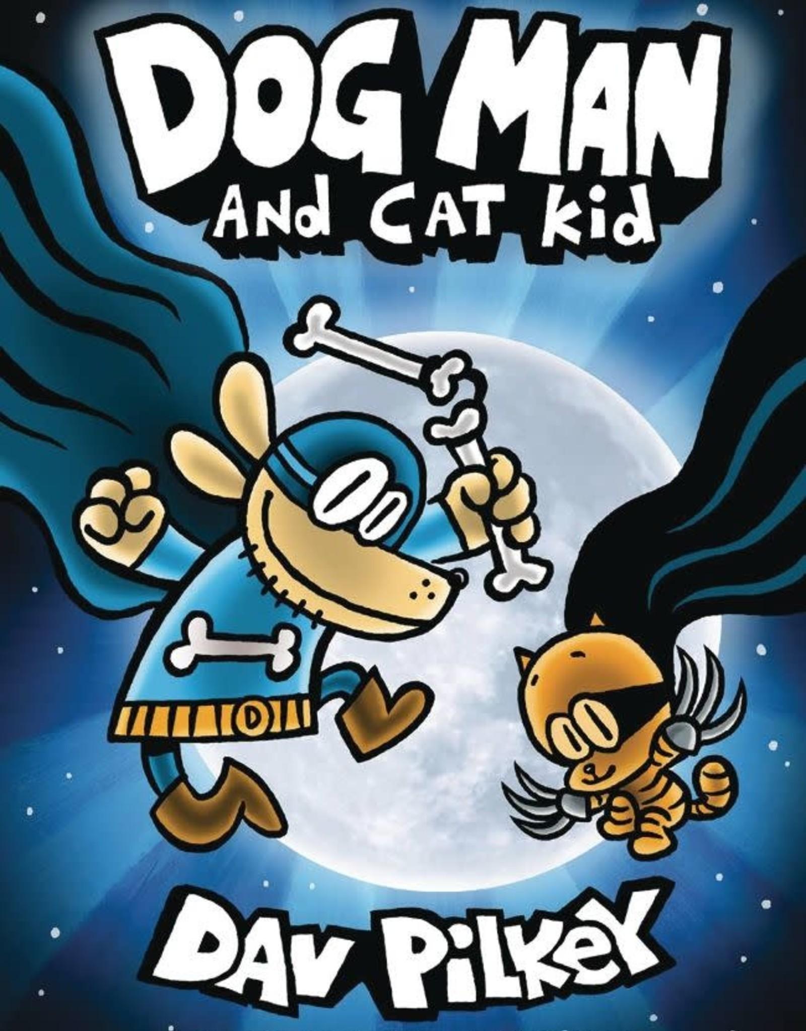 Graphix Dog Man GN Vol 04 Dog Man And Cat Kid