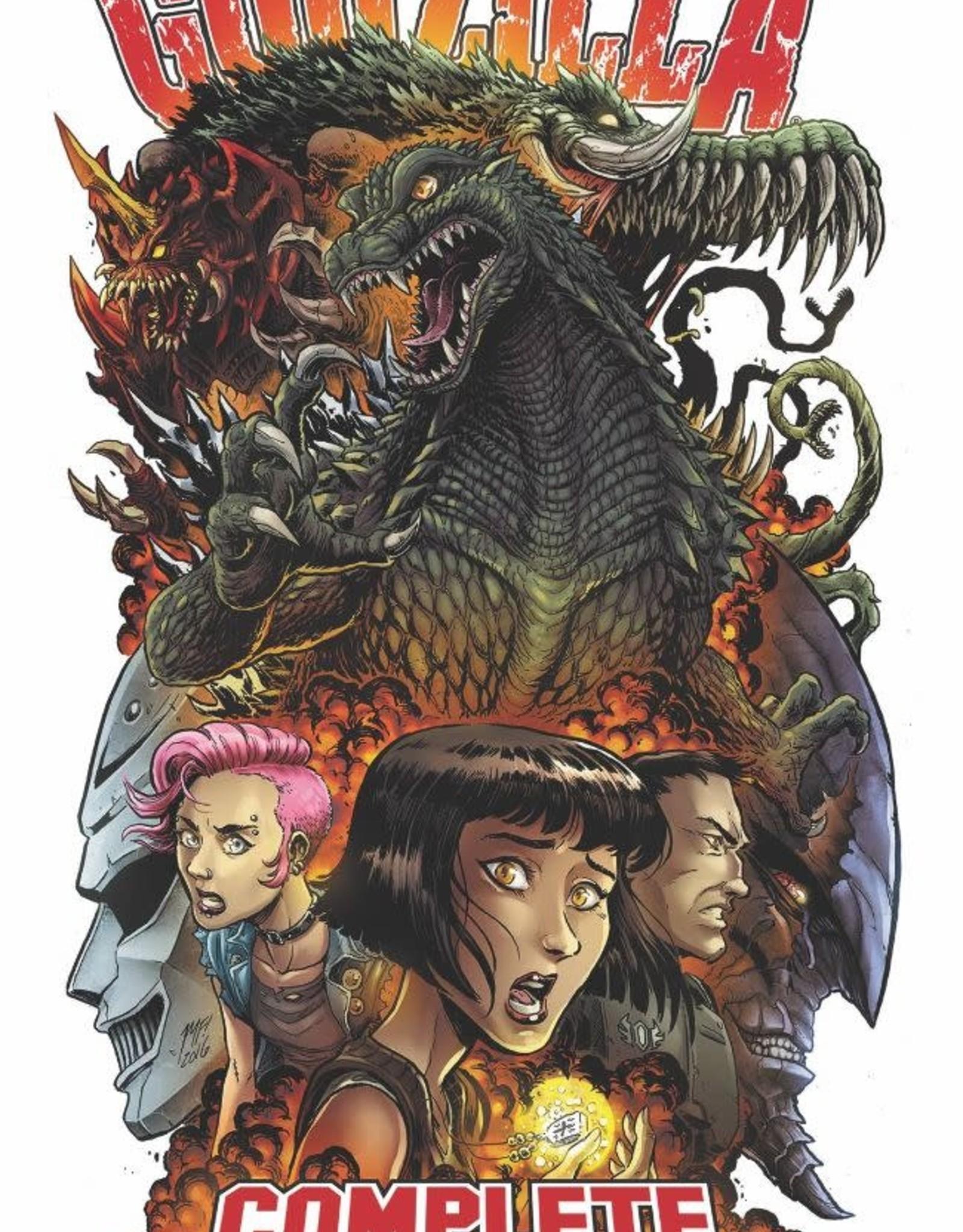 IDW Publishing Godzilla Comp Rulers Of Earth TP Vol 01 New Ed