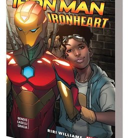 Marvel Comics Invincible Iron Man Ironheart Vol 01 Riri Williams