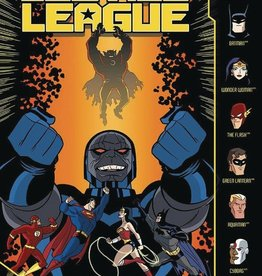 Stone Arch Books Justice League Darkseid and the Fires of Apokolips