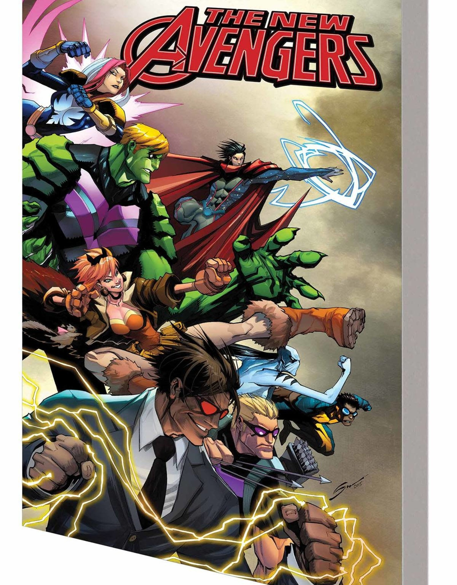 Marvel Comics New Avengers A.I.M. Vol 01 Everything is New